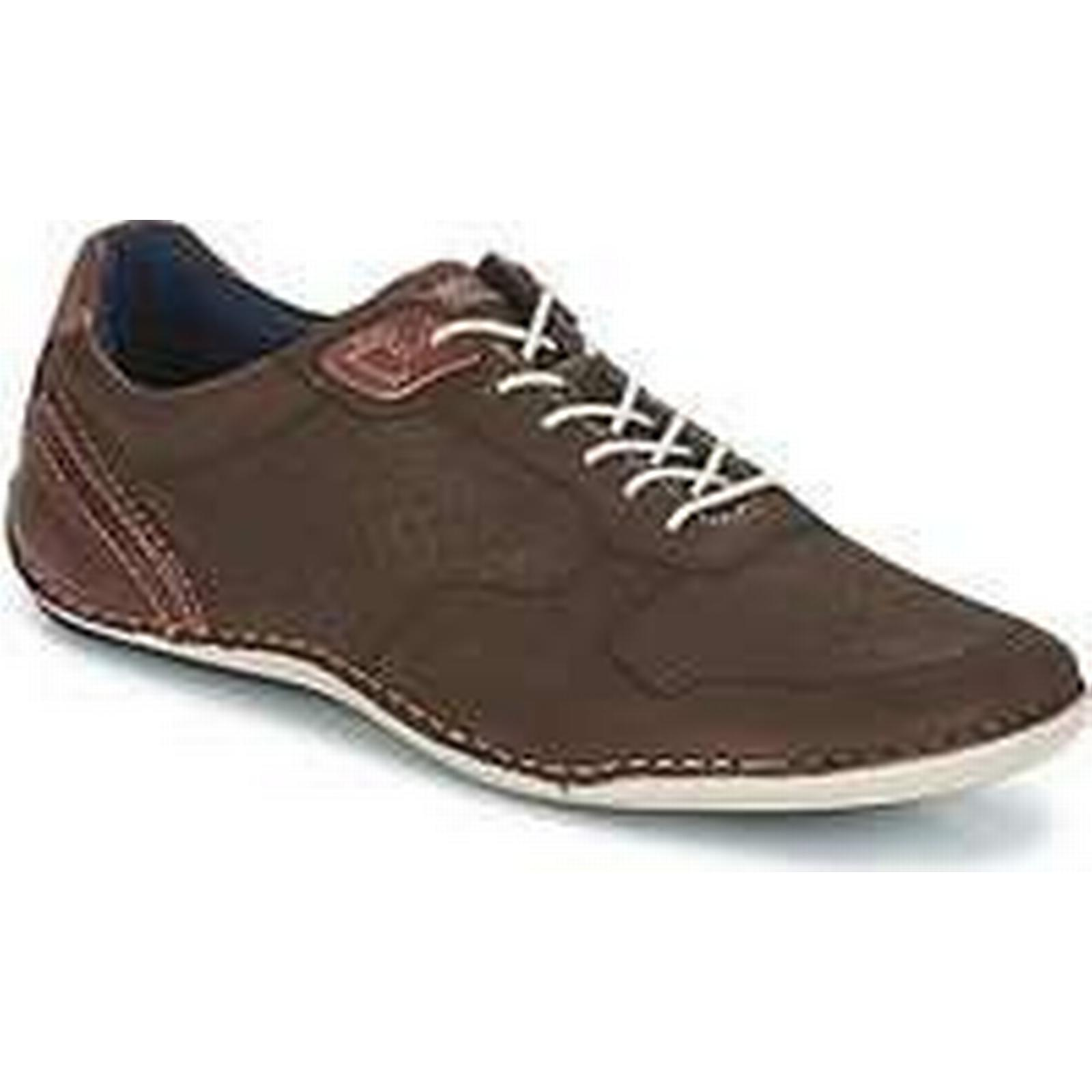 Spartoo.co.uk Bugatti Shoes - men's Shoes Bugatti (Trainers) in Brown 9e638b