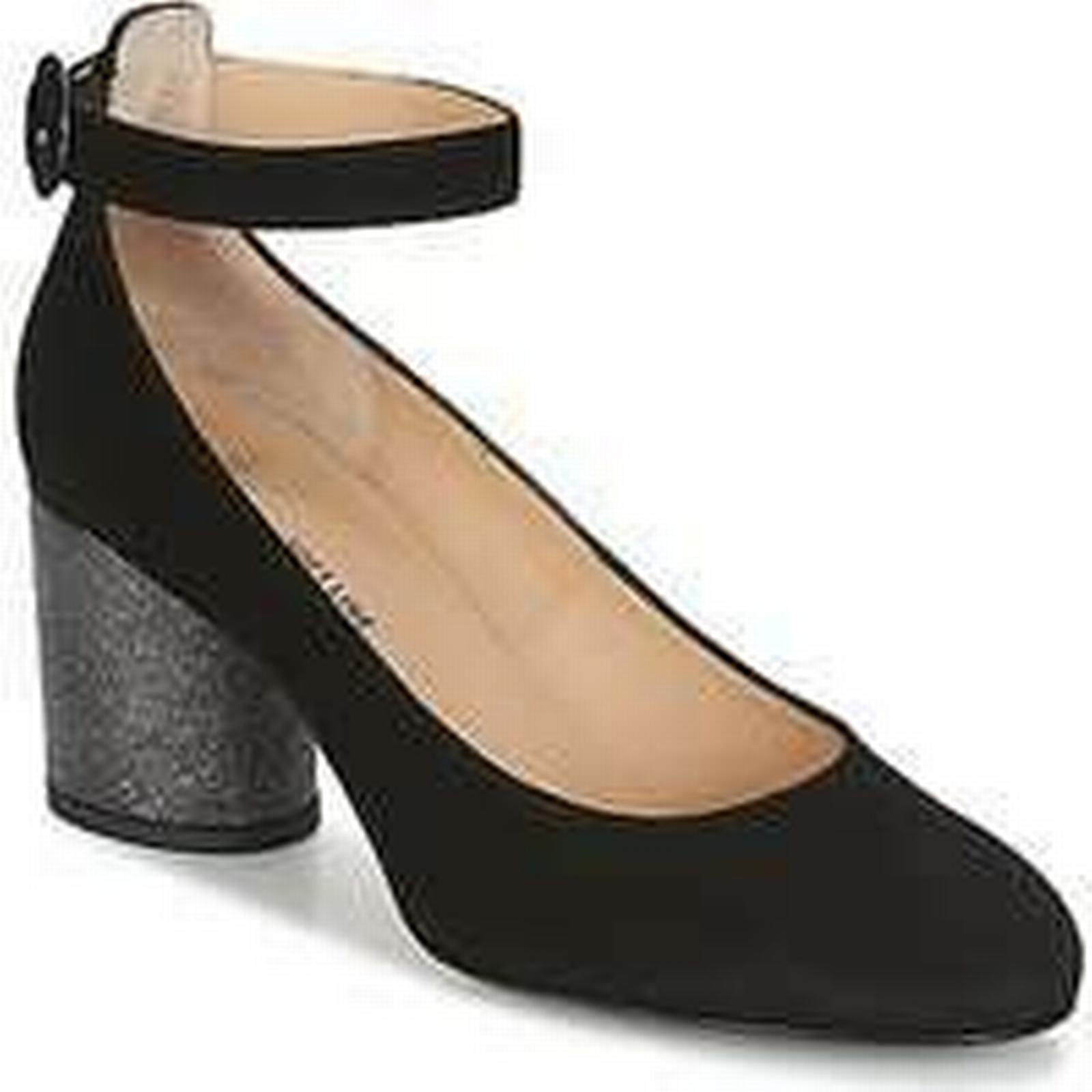 Spartoo.co.uk Shoes Perlato UNEPOTI women's Court Shoes Spartoo.co.uk in Black aeb155