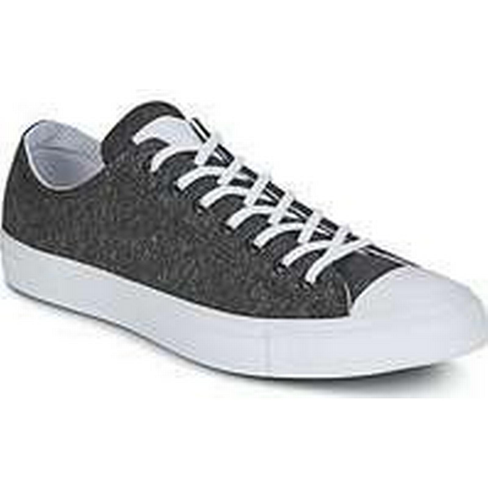 Spartoo.co.uk Star Converse Chuck Taylor All Star Spartoo.co.uk Ox Essential Terry men's Shoes (Trainers) in Grey 7c4a62
