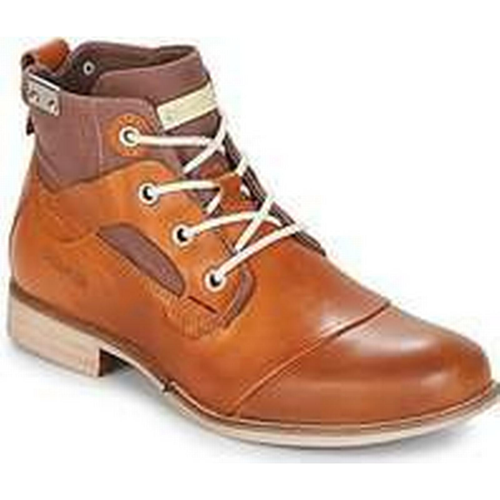 Spartoo.co.uk Bunker YON Brown men's Mid Boots in Brown YON f06eb0