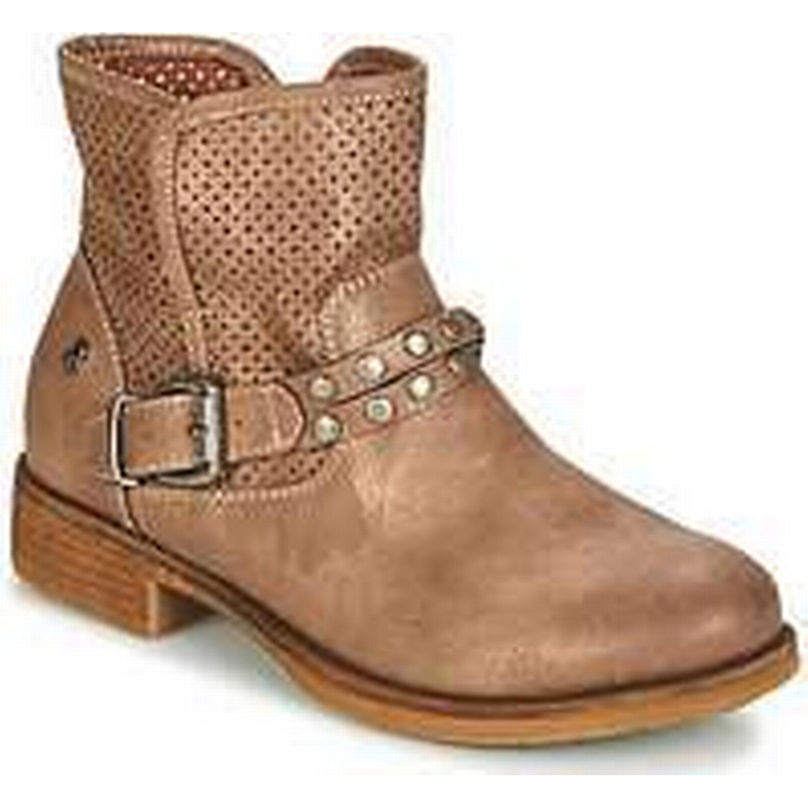 Spartoo.co.uk Boots Refresh MORGUI women's Mid Boots Spartoo.co.uk in Brown 05d1da