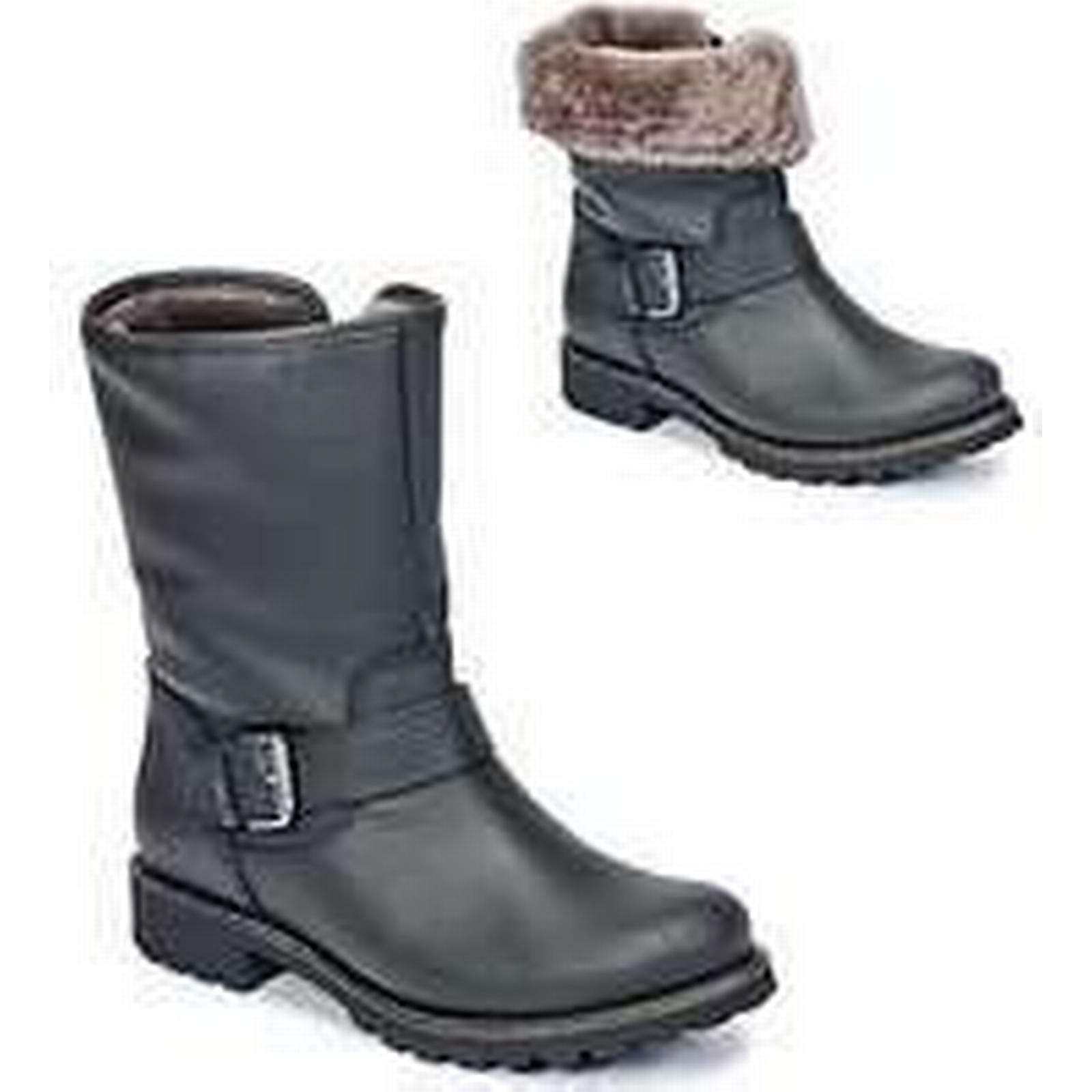 Spartoo.co.uk Panama Mid Jack SINGAPUR-IGLOO women's Mid Panama Boots in Black 628c57
