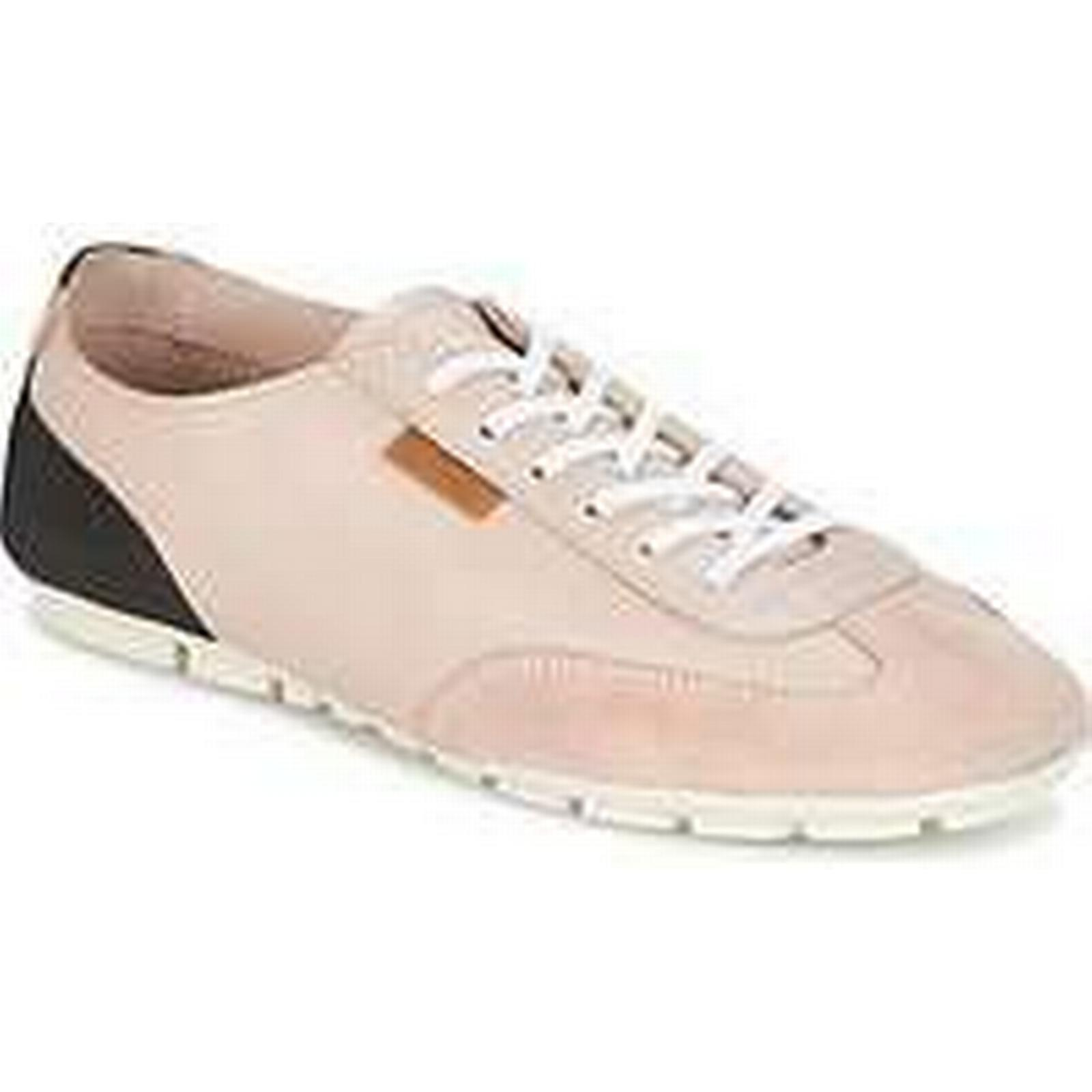Spartoo.co.uk Pataugas PRIGHT-PEAU women's in Shoes (Trainers) in women's Pink 5da82c