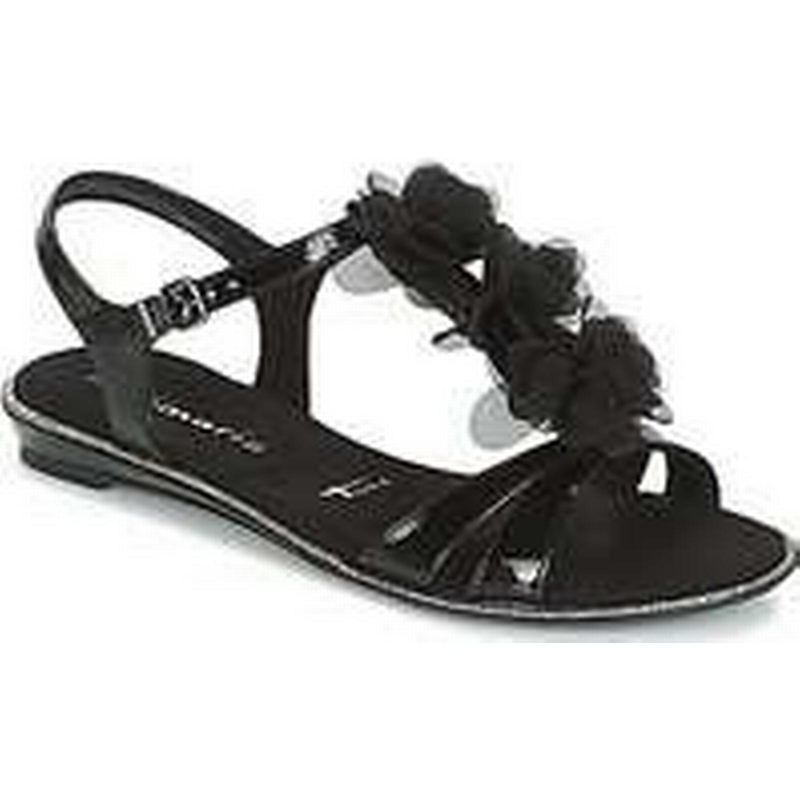 Spartoo.co.uk GACAPI Tamaris GACAPI Spartoo.co.uk women's Sandals in Black 98908a