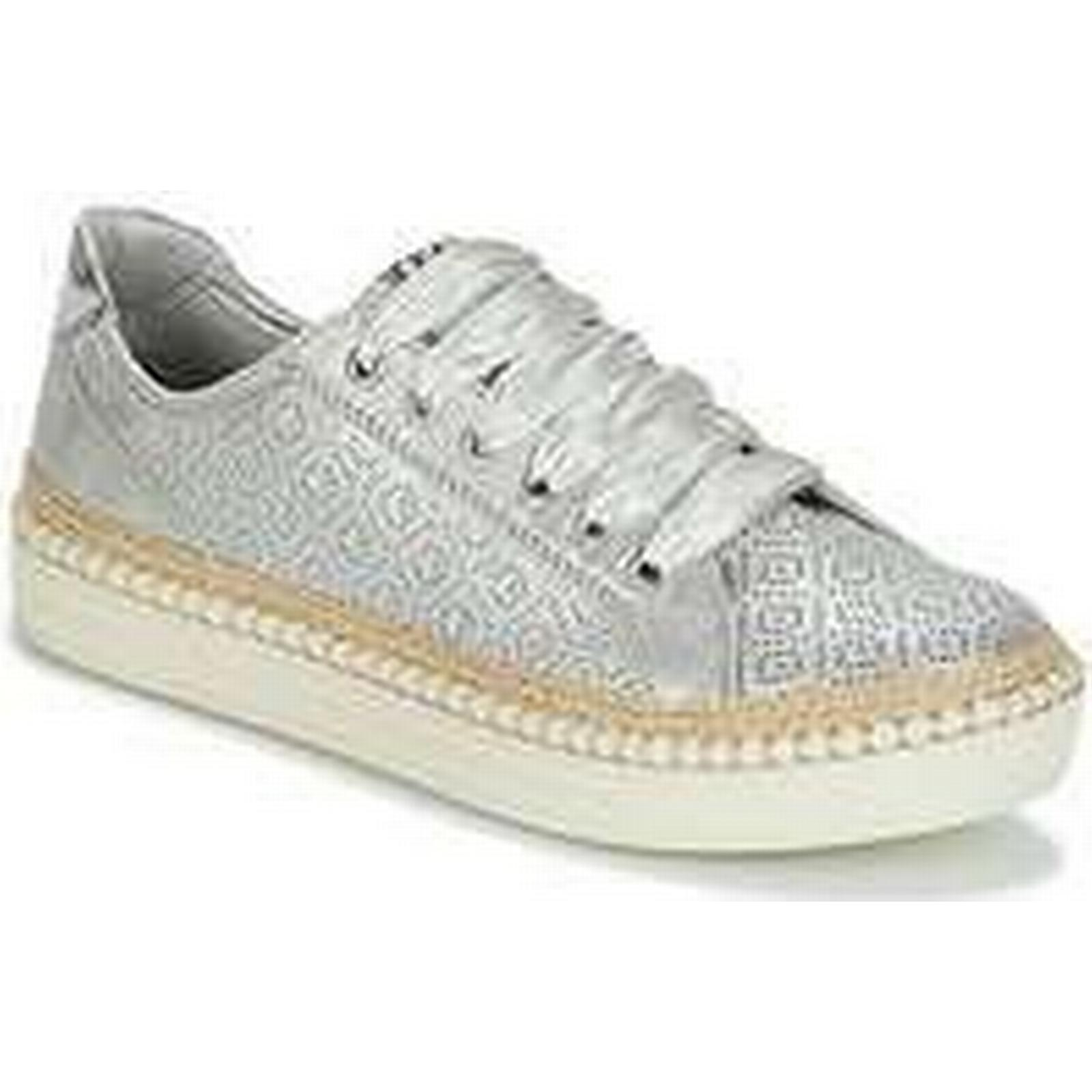 Spartoo.co.uk Marco (Trainers) Tozzi BAPER women's Shoes (Trainers) Marco in Silver 168d46