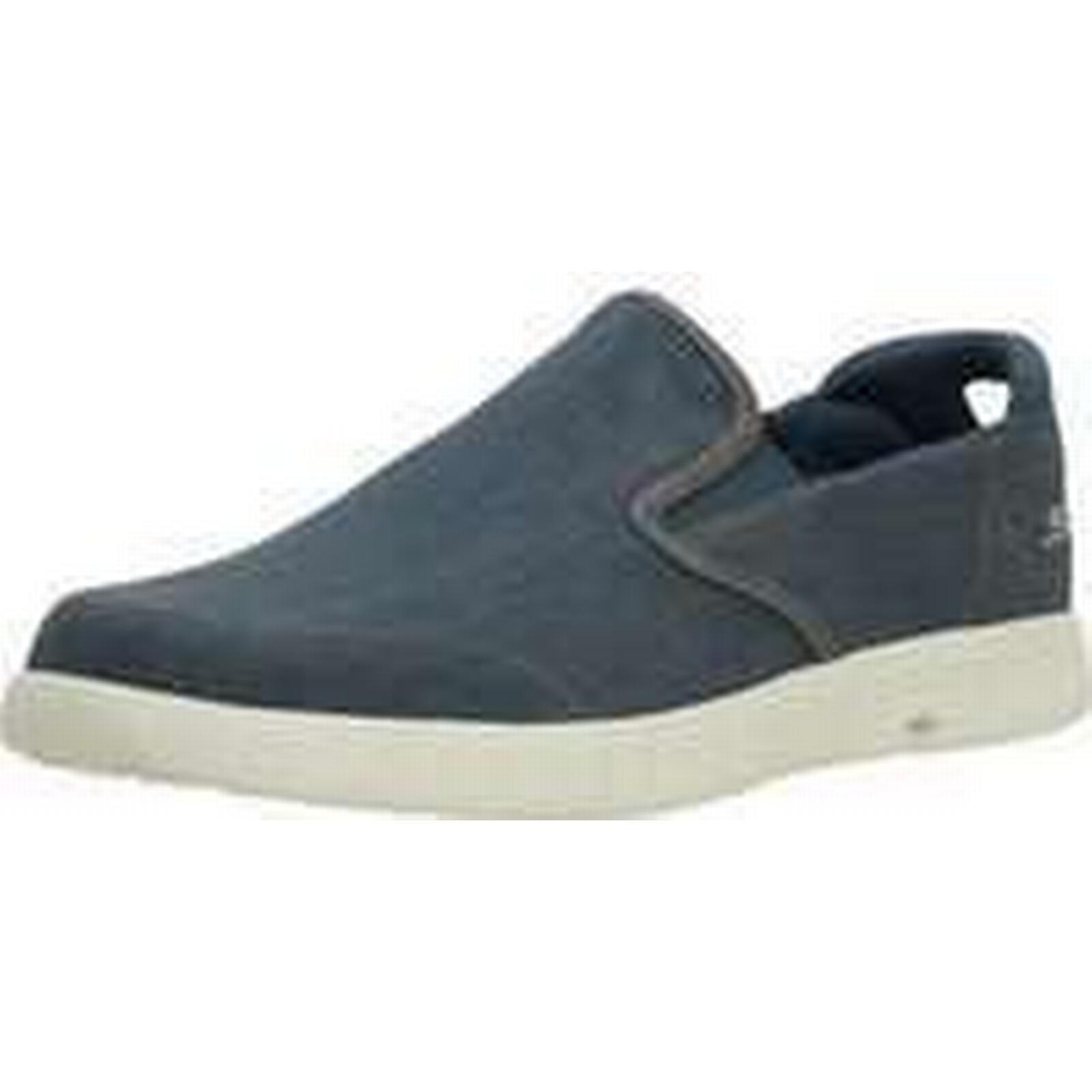 Spartoo.co.uk Skechers ON Slip-ons THE GO GLIDE men's Slip-ons ON (Shoes) in Blue 313c73