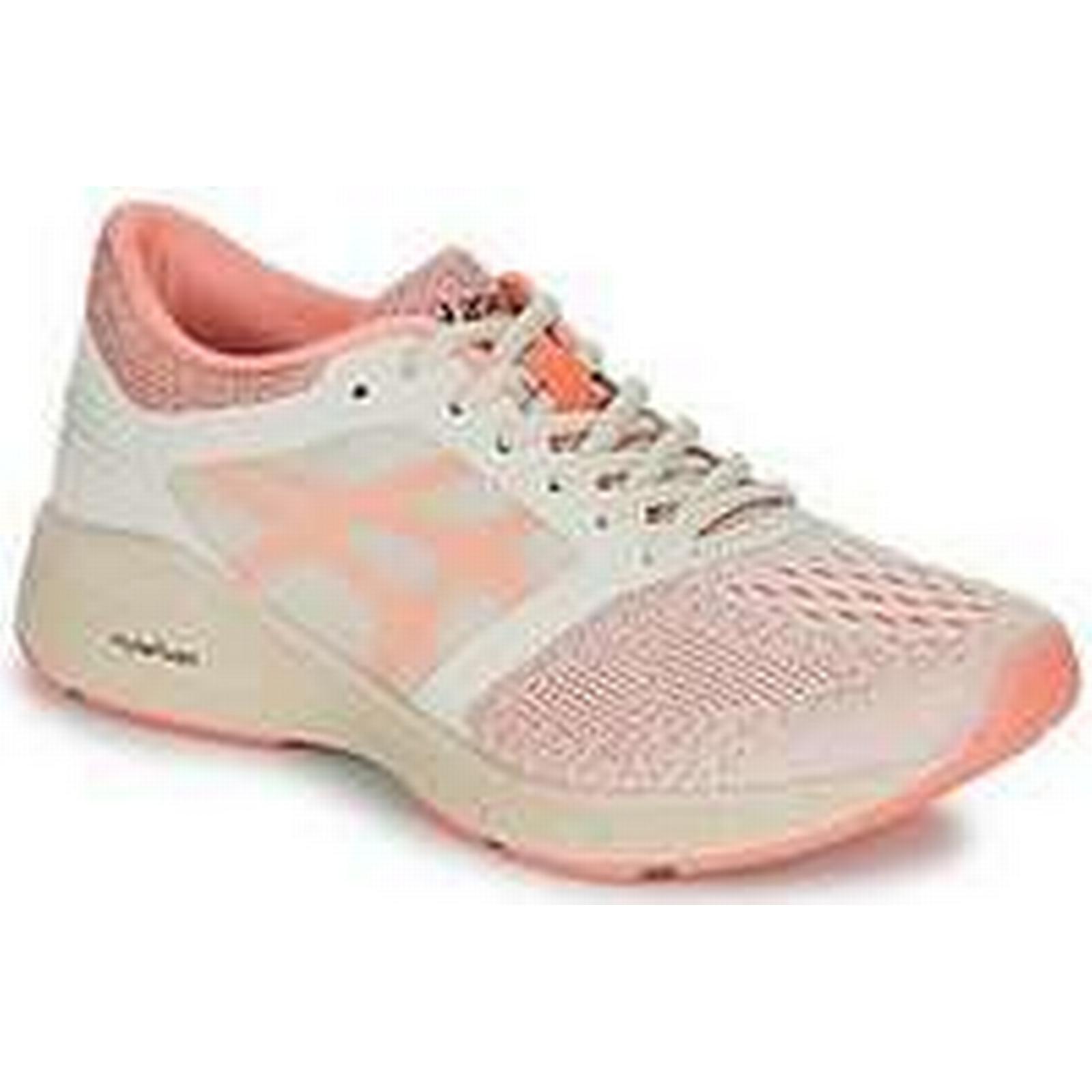 Spartoo.co.uk Asics ROADHAWK Trainers women's Running Trainers ROADHAWK in Beige 208d1f