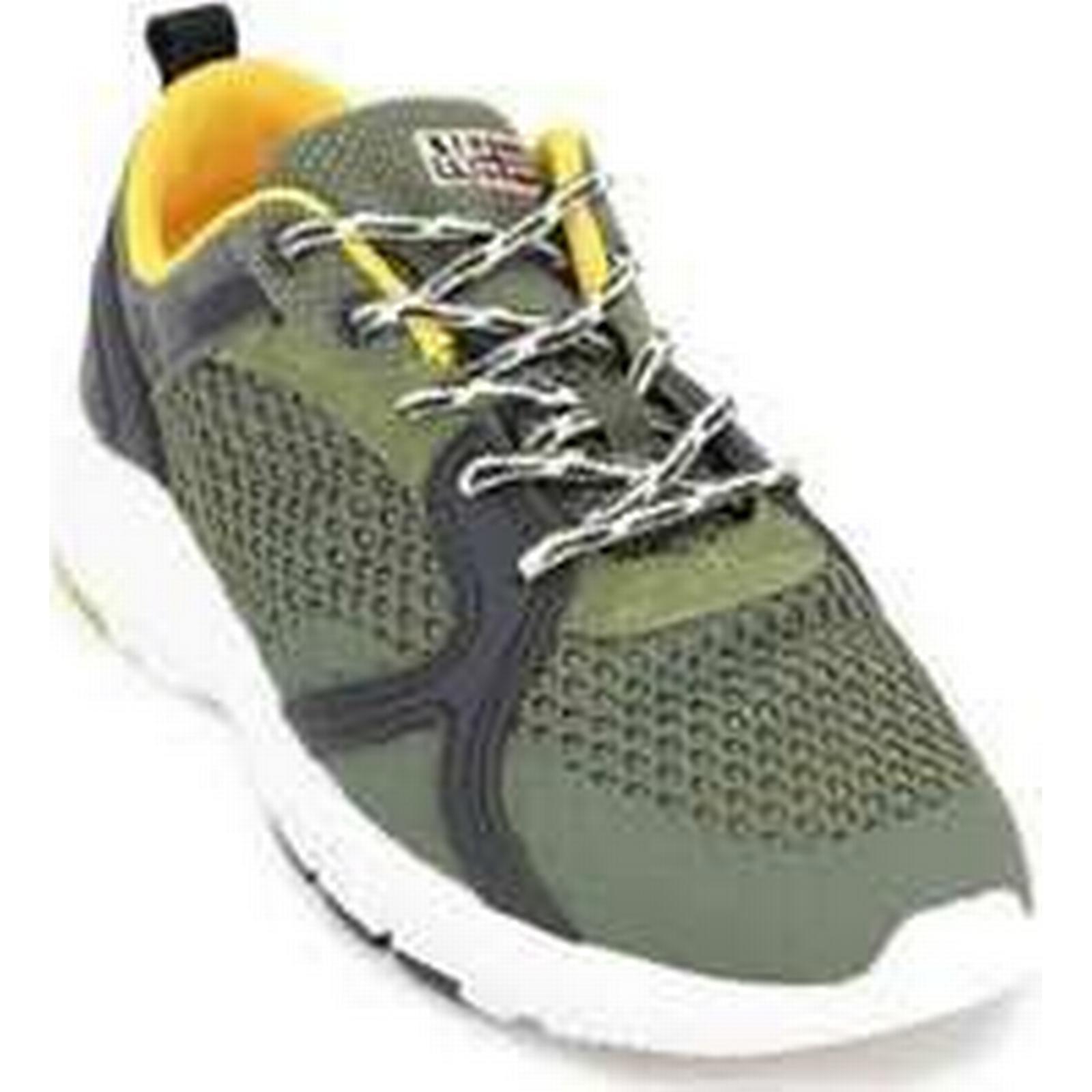 Spartoo.co.uk Napapijri Optima Shoes 16833616 Men's Sneakers men's Shoes Optima (Trainers) in Green e23405