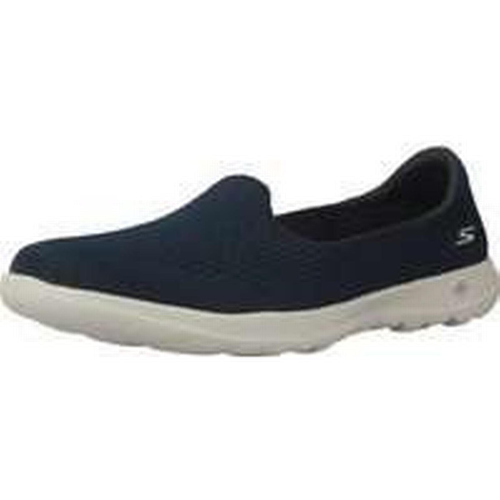 Spartoo.co.uk women's Skechers GO WALK LITE SHANTI women's Spartoo.co.uk Slip-ons (Shoes) in Blue 9a744d
