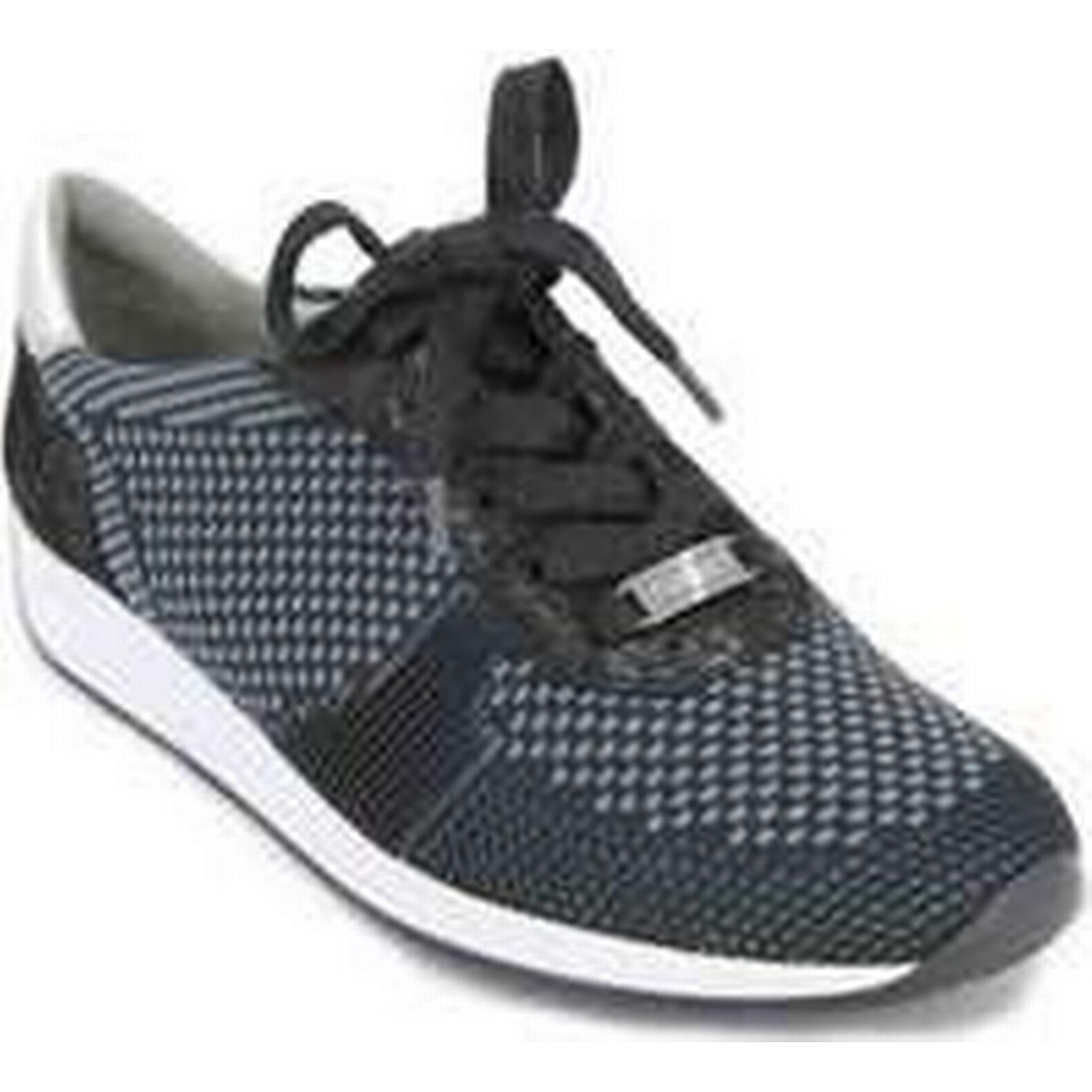Spartoo.co.uk Sneakers Ara Fusion4 12-34027 Women's Sneakers Spartoo.co.uk women's Shoes (Trainers) in Black a754bd