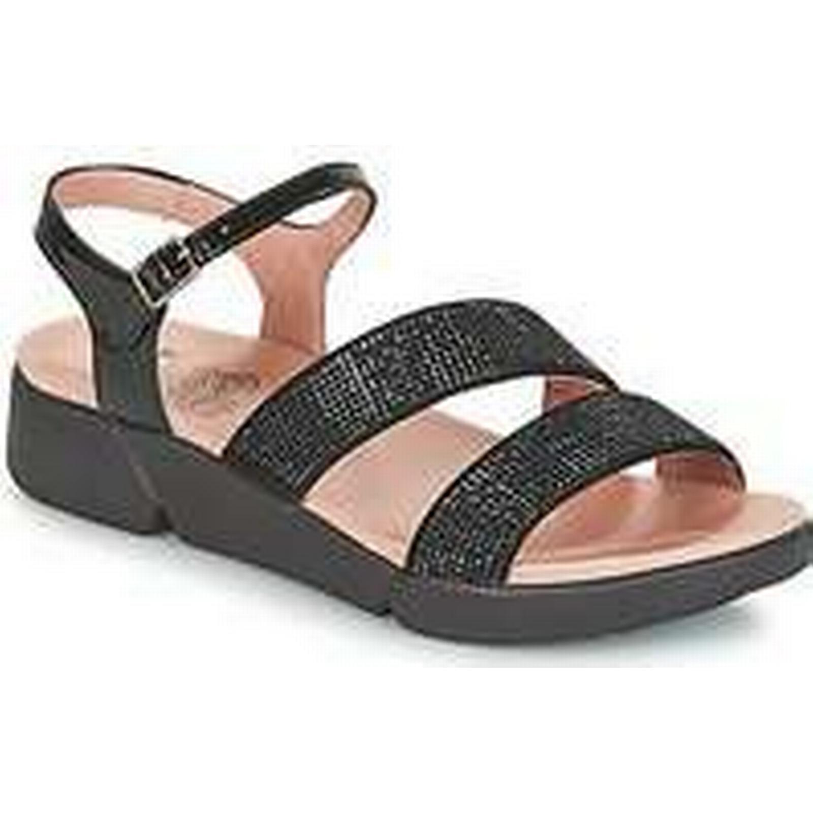 Spartoo.co.uk Wonders women's CRUSTOU women's Wonders Sandals in Black b88143