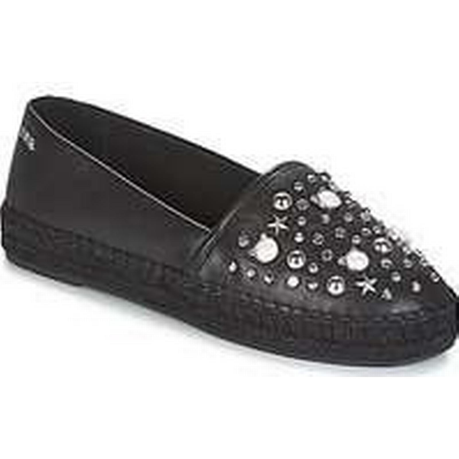 Spartoo.co.uk Karl Lagerfeld KAMINI CELESTIA women's Espadrilles Black / Casual Shoes in Black Espadrilles 135b77