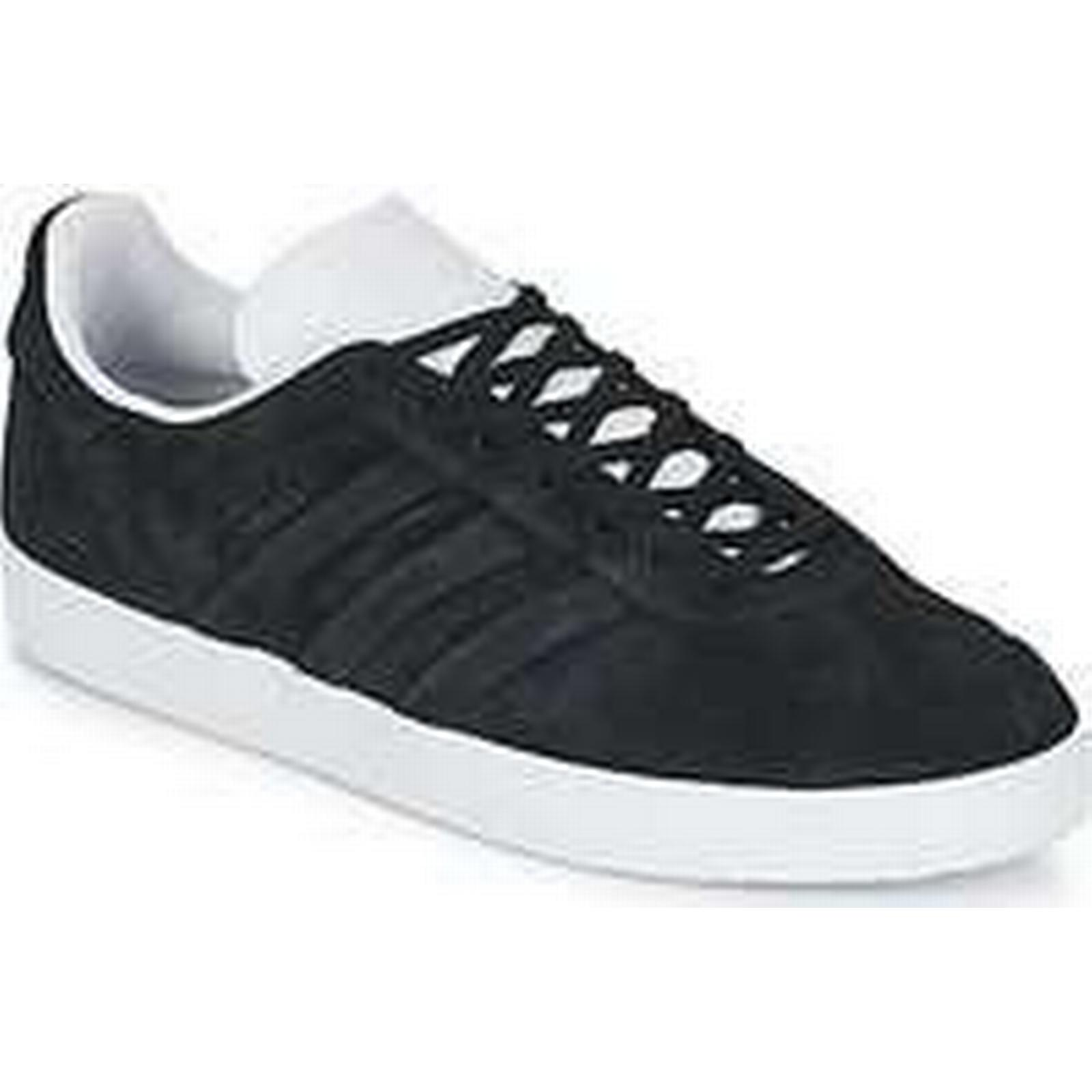 Spartoo.co.uk adidas GAZELLE STITCH AND Black men's Shoes (Trainers) in Black AND 564116