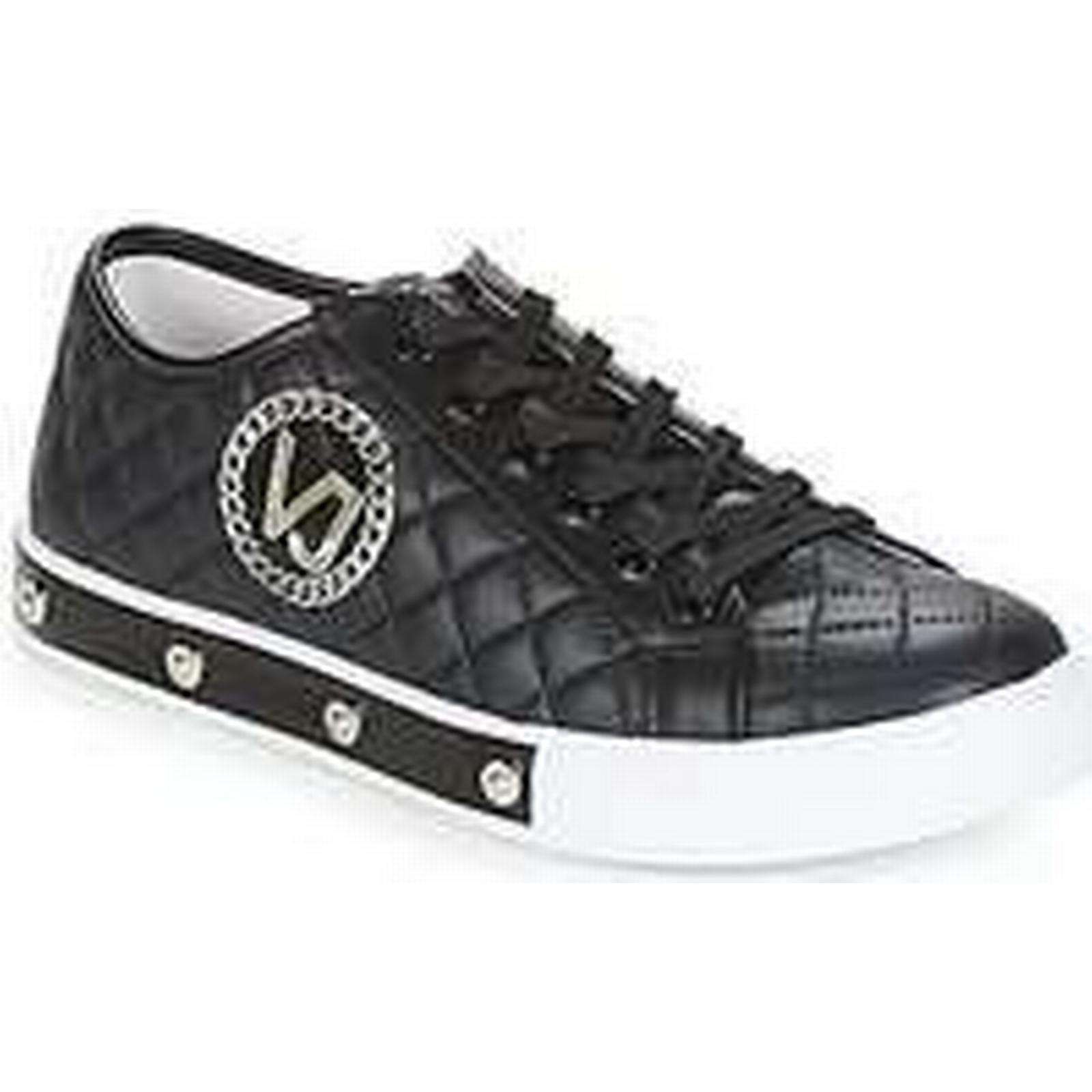 Spartoo.co.uk Versace Jeans (Trainers) E0VRBSG2 women's Shoes (Trainers) Jeans in Black 9ba3b8