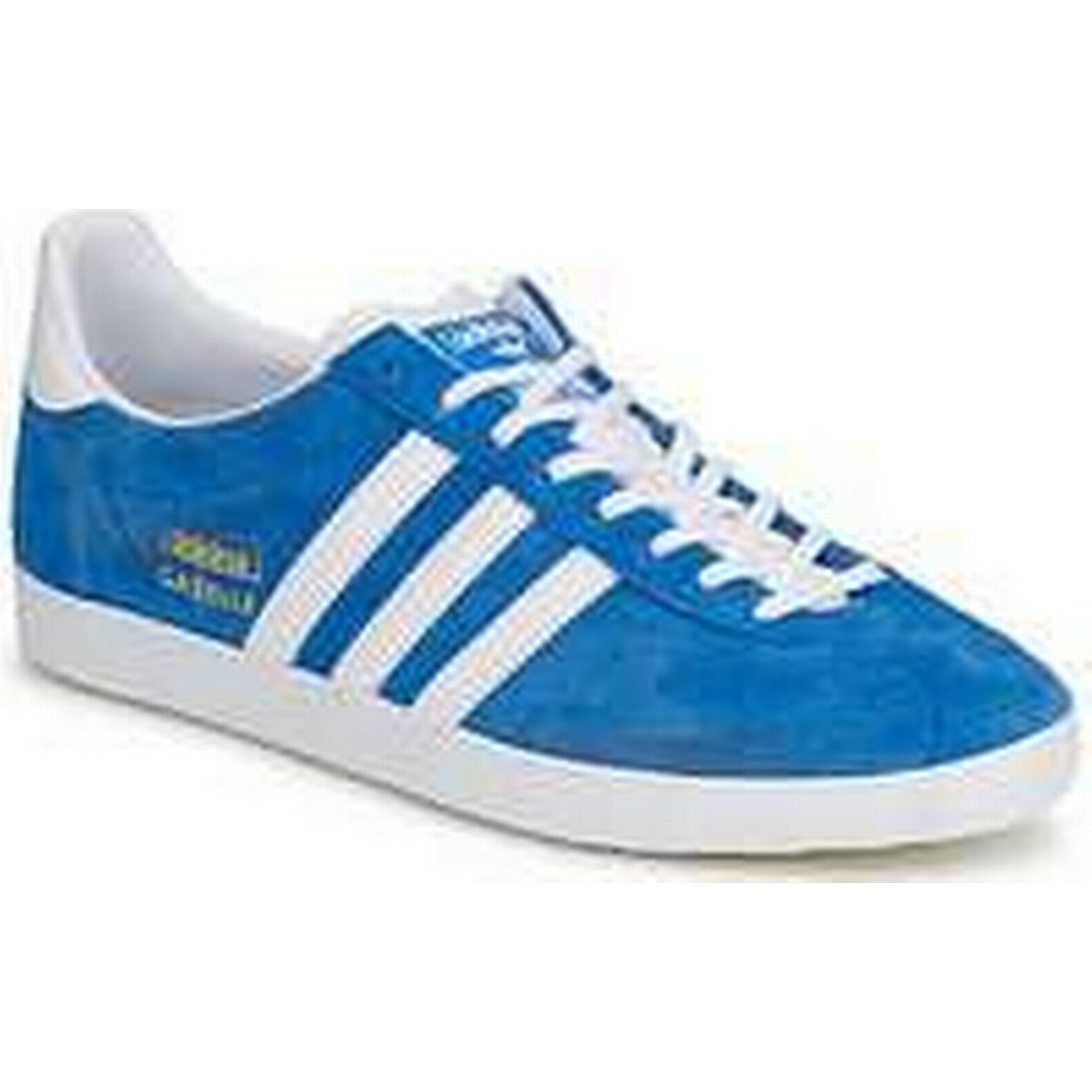 Spartoo.co.uk adidas (Trainers) GAZELLE OG men's Shoes (Trainers) adidas in Blue f106b8