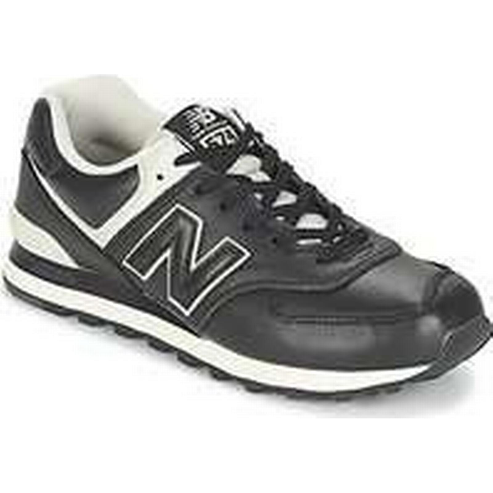 Spartoo.co.uk New Balance ML574 in men's Shoes (Trainers) in ML574 Black 4dff22