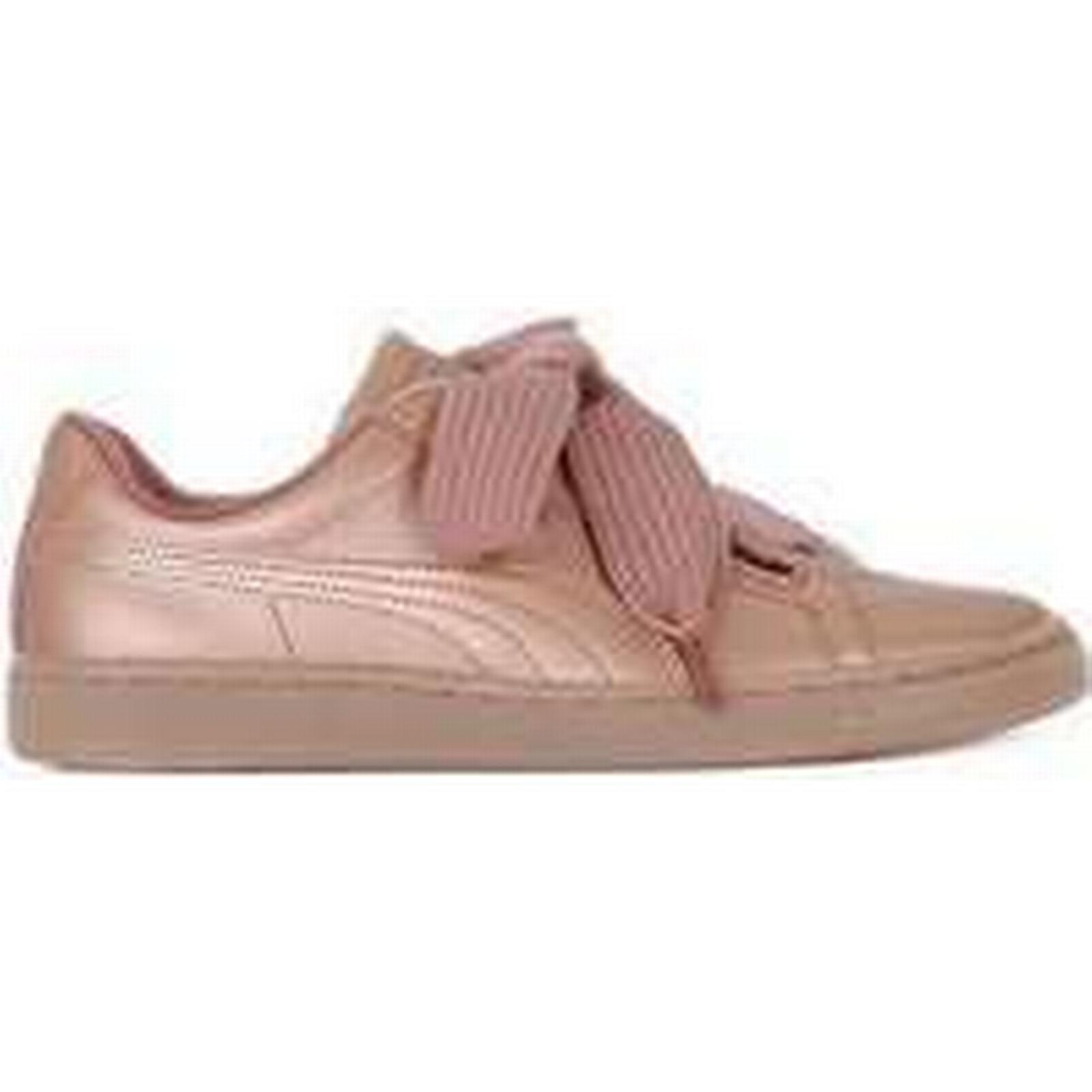 Spartoo.co.uk Puma Basket Heart in Copper women's Shoes (Trainers) in Heart Pink cff6be