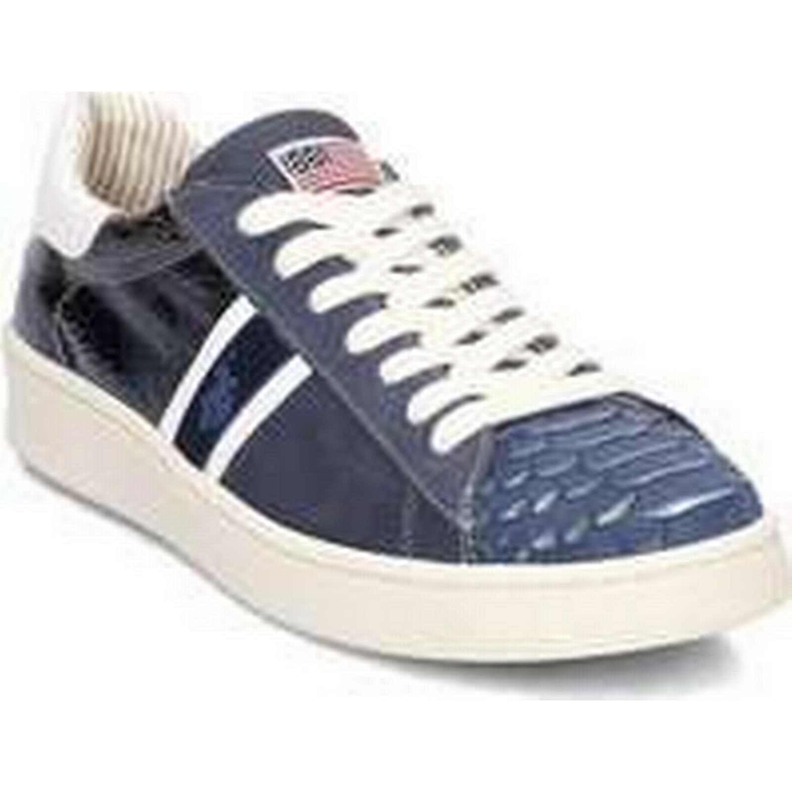 Spartoo.co.uk U.S Polo Assn. ERYN4189S8SY3NAVY multicolour women's Shoes (Trainers) in multicolour ERYN4189S8SY3NAVY a4b580