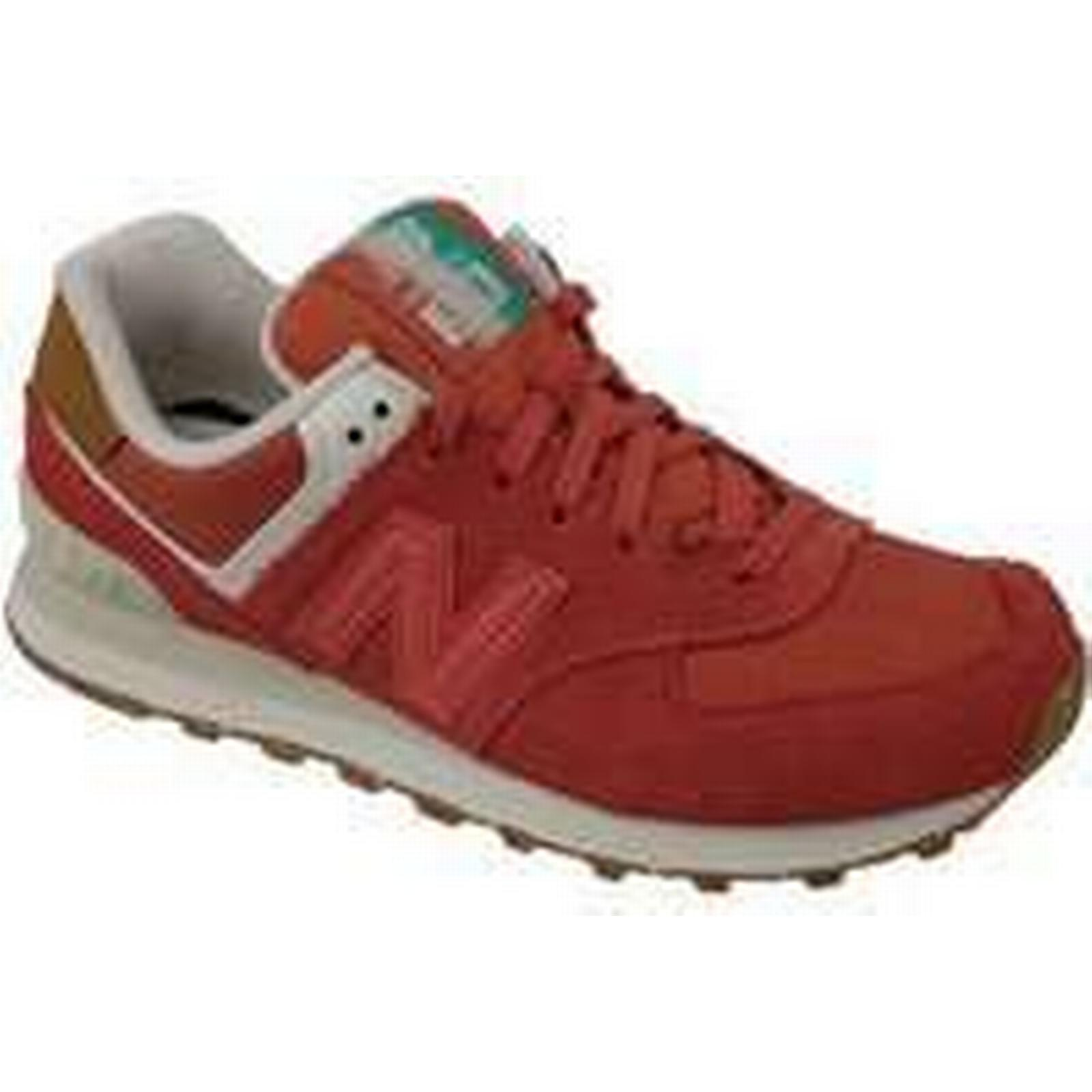 Spartoo.co.uk New Balance in WL574SEA women's Shoes (Trainers) in Balance Orange cfa92e