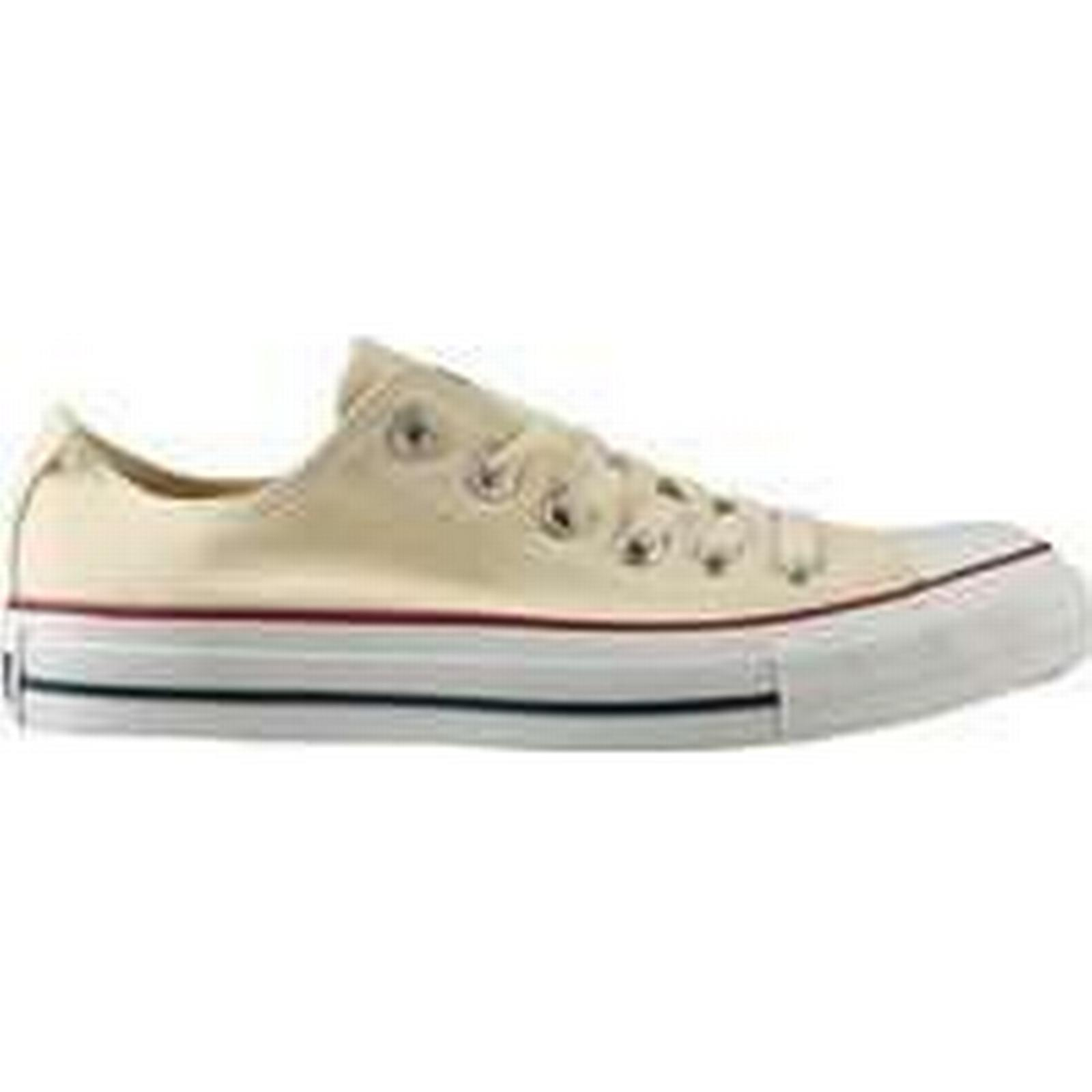 Spartoo.co.uk Converse Chuck Taylor All in Star women's Shoes (Trainers) in All Beige cf7144