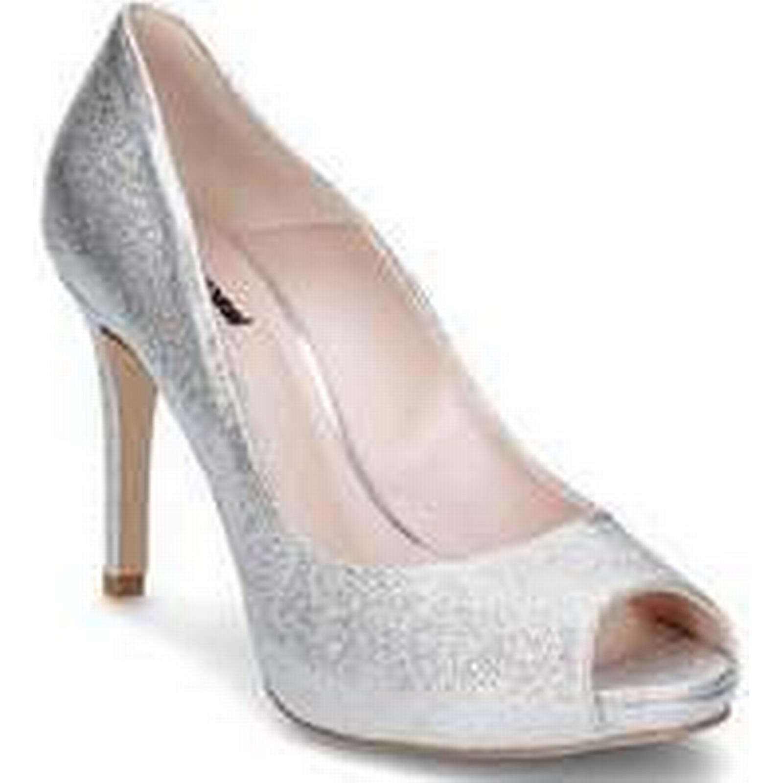 Spartoo.co.uk Court Gino Rossi Olivia women's Court Spartoo.co.uk Shoes in Silver d022fc