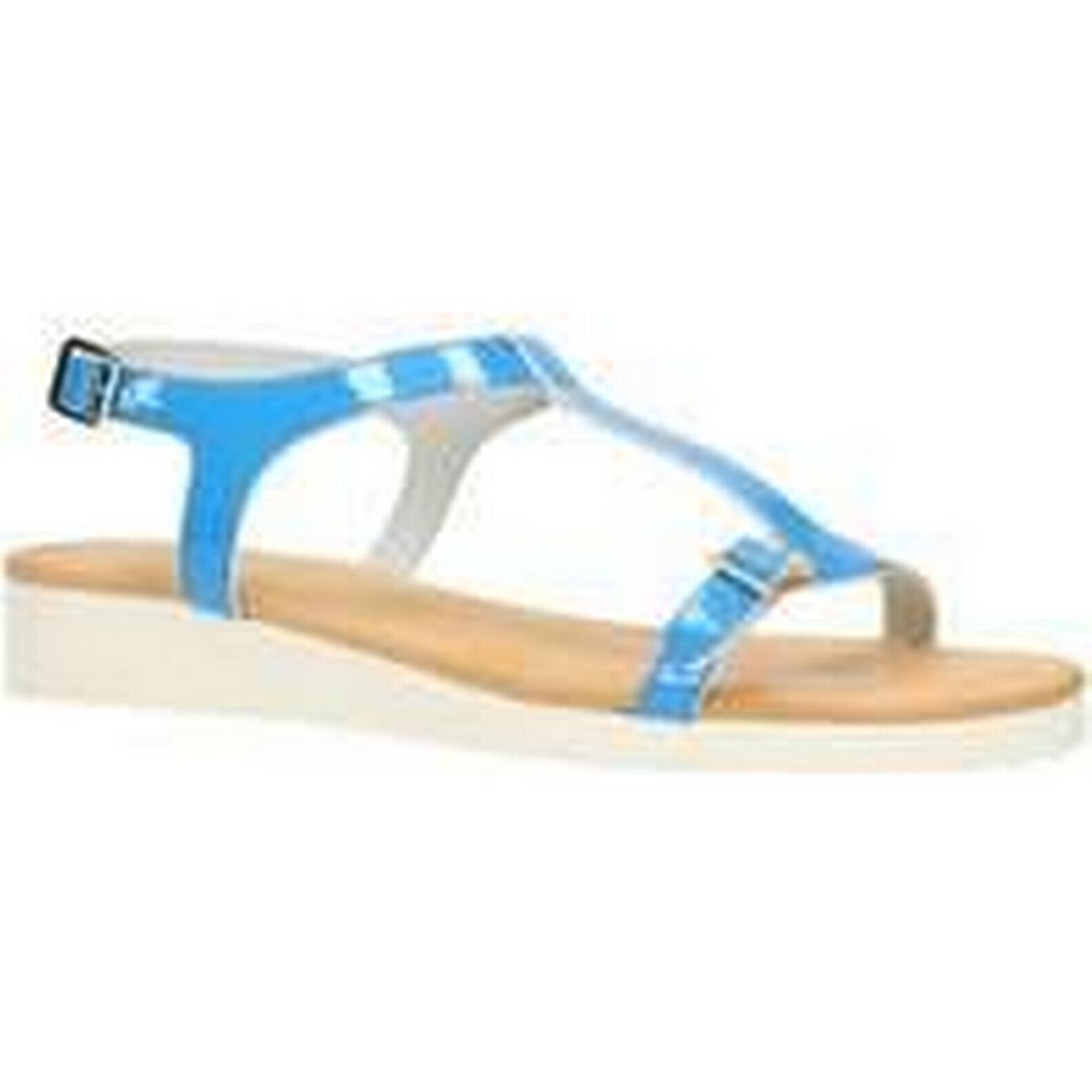 Spartoo.co.uk Gino Rossi Spring/Summer Sandals DN670M Blue Woman Spring/Summer Rossi Collection 2018 women's Sandals in Blue 8f07e4