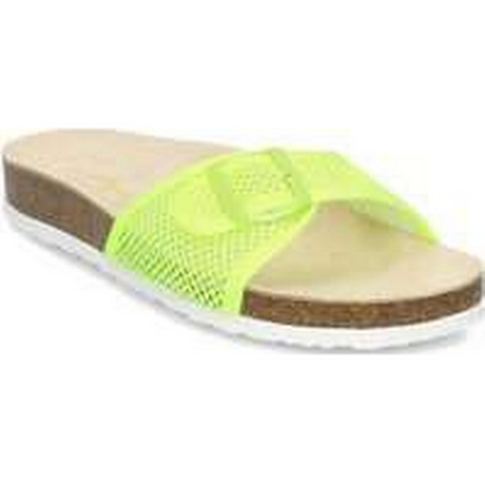 Spartoo.co.uk Pepe jeans Oban Mesh women's Mules Yellow / Casual Shoes in Yellow Mules 8c1a84