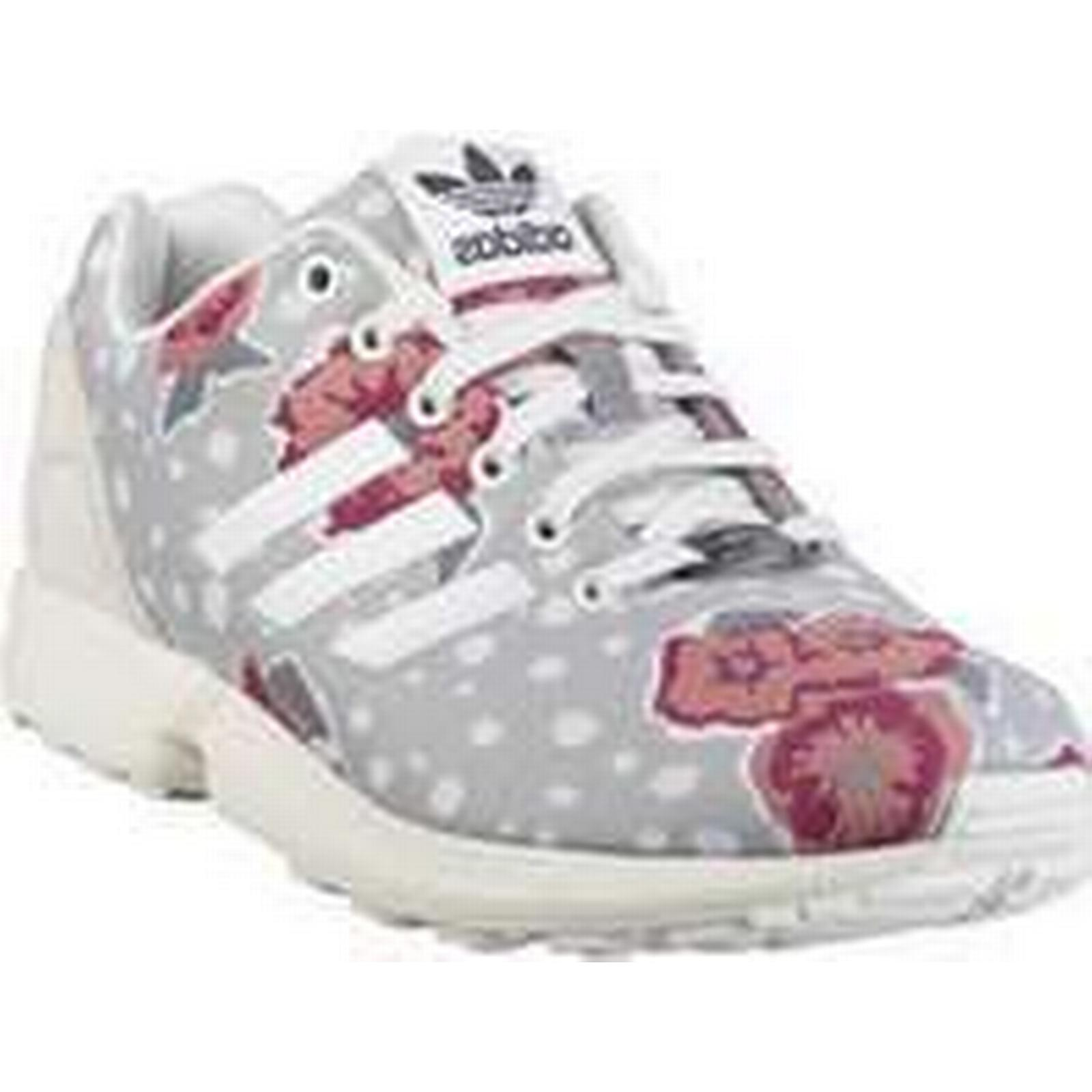 Spartoo.co.uk adidas Shoes ZX Flux W women's Shoes adidas (Trainers) in Pink 448346