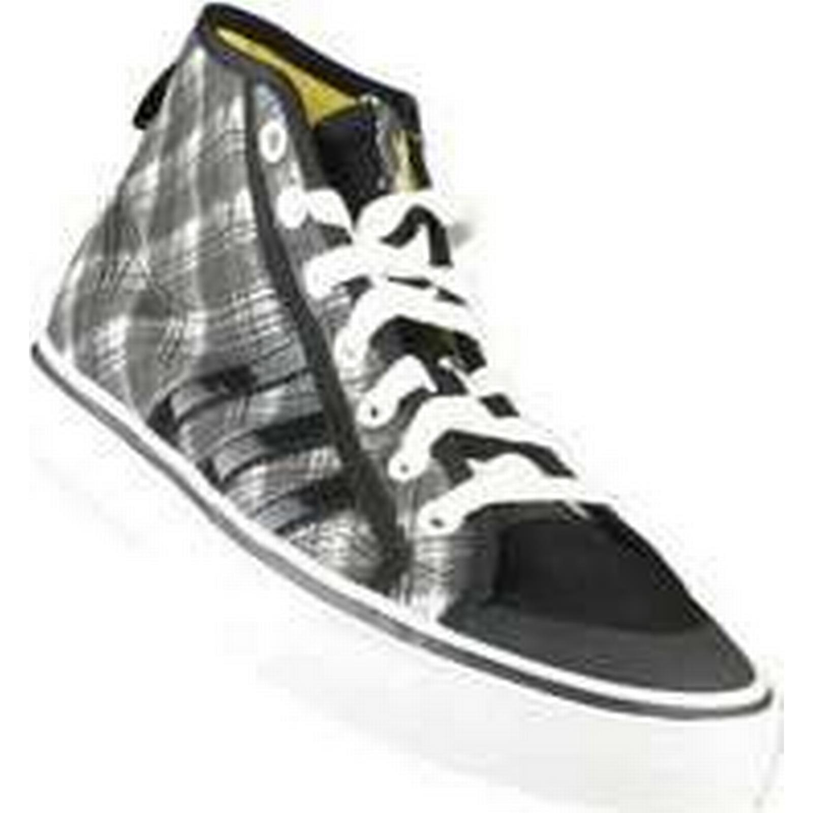Spartoo.co.uk adidas Nizza Trainers) HI J women's Shoes (High-top Trainers) Nizza in Black a28159