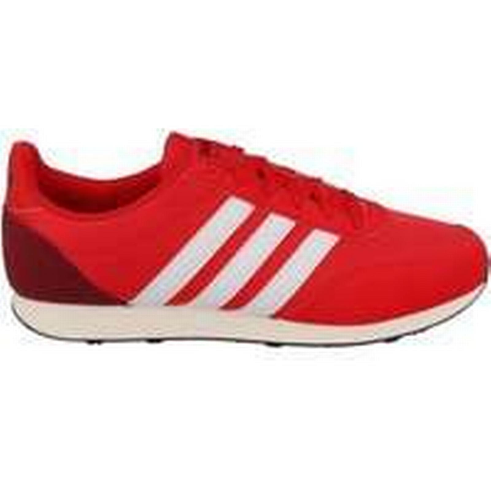 Spartoo.co.uk adidas V (Trainers) Racer 20 men's Shoes (Trainers) V in Red d8882a