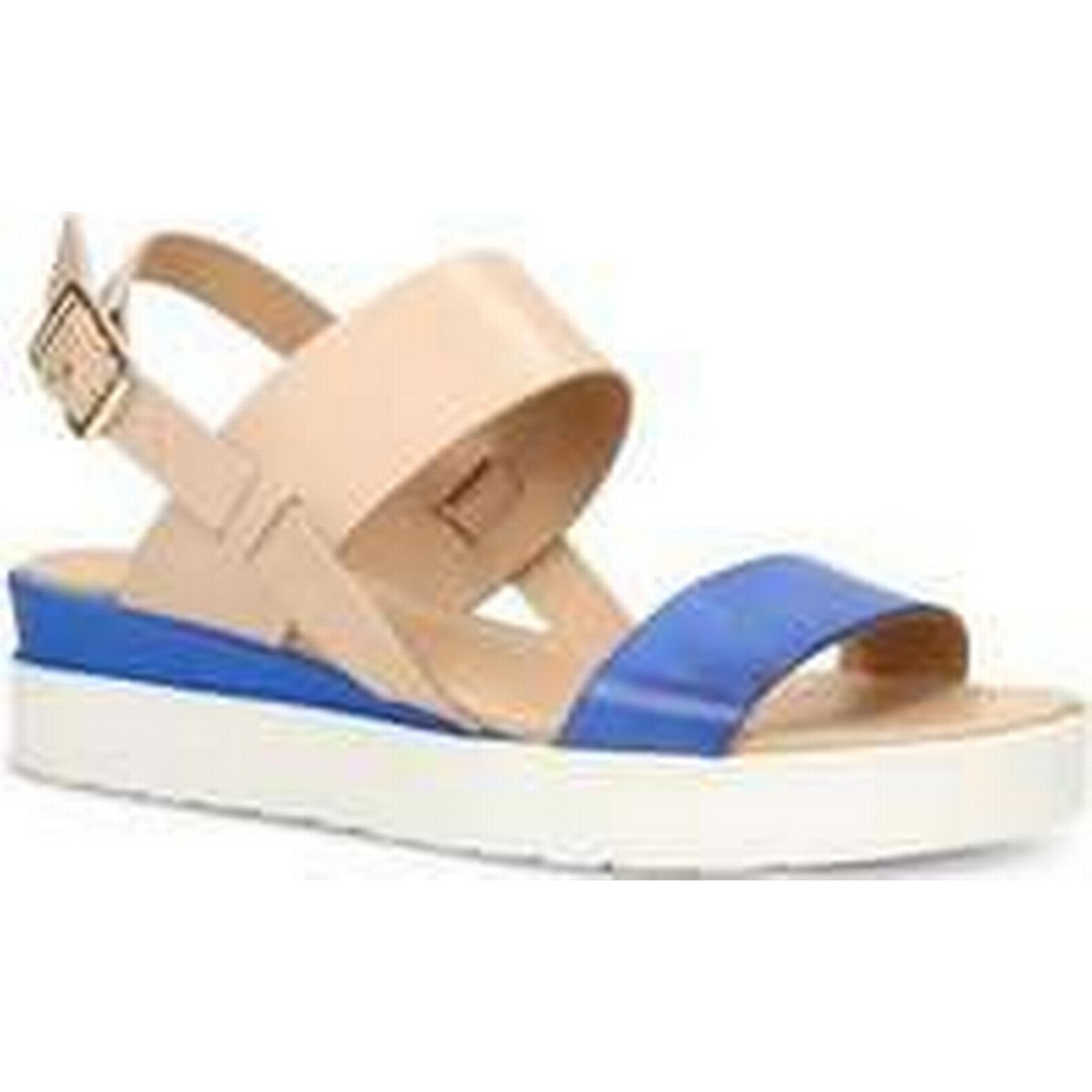 Spartoo.co.uk Gino Rossi Sandals DN984M Spring/Summer Blue / Beige Woman Spring/Summer DN984M Collection 2018 women's Sandals in Blue 3196a0