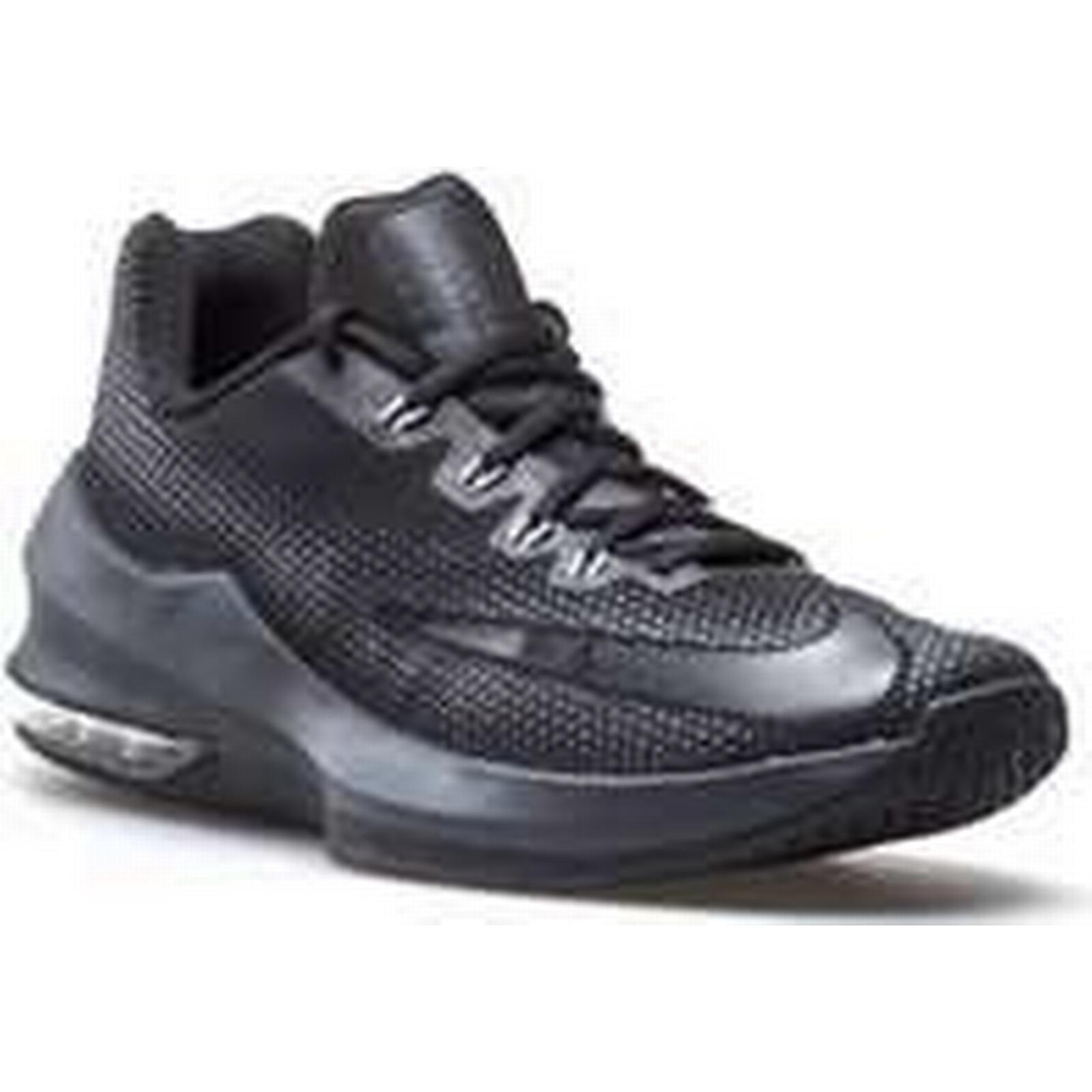 Spartoo.co.uk Nike Air Max Infuriate Low in men's Basketball Trainers (Shoes) in Low Black b40165