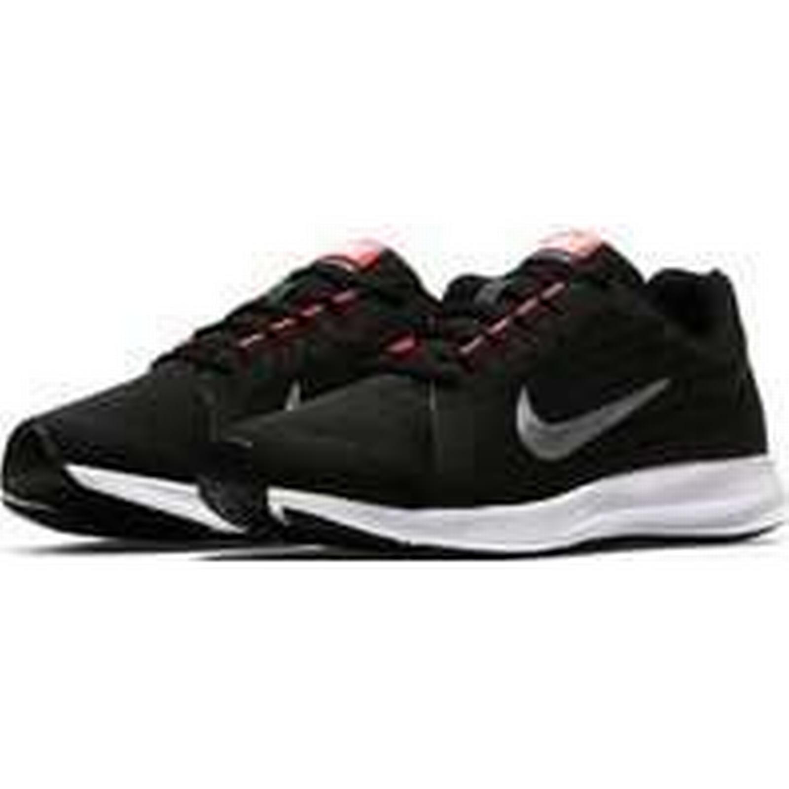 Spartoo.co.uk Nike Girls' Downshifter 922855 8 (GS) Running Shoe 922855 Downshifter women's Shoes (Trainers) in Black f6c8c6