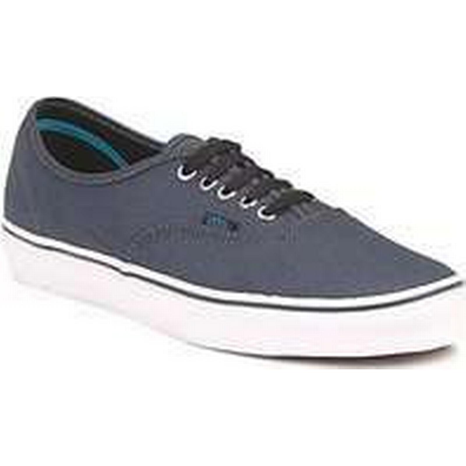 Spartoo.co.uk Vans AUTHENTIC men's in Shoes (Trainers) in men's Grey 3bd612