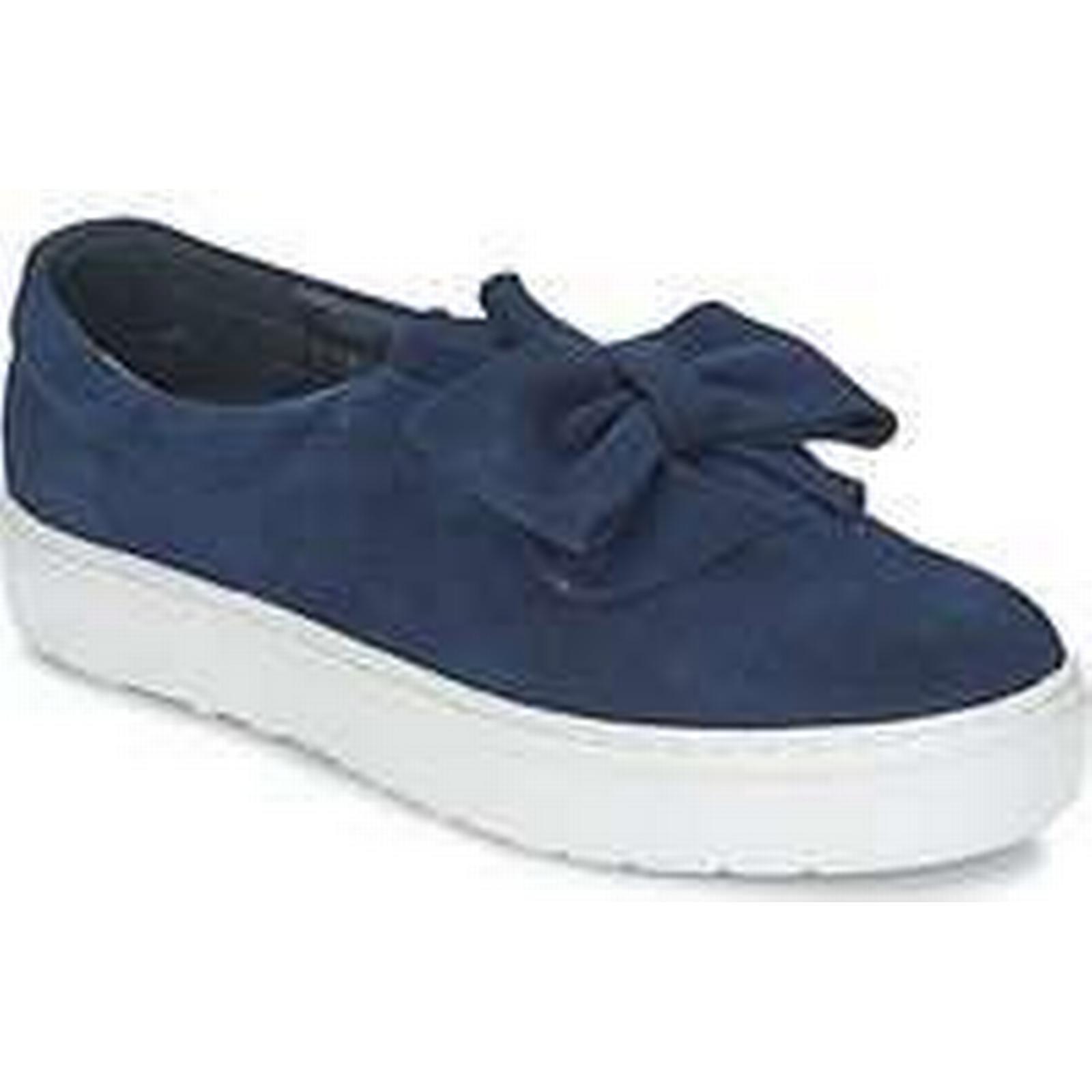 Spartoo.co.uk Slip-ons F-Troupe Bow Vulc women's Slip-ons Spartoo.co.uk (Shoes) in Blue a9c16d