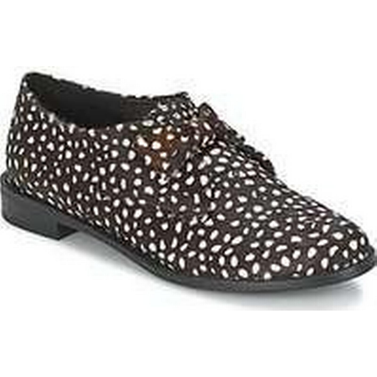 Spartoo.co.uk F-Troupe Bow Shoes Polka women's Casual Shoes Bow in Black 6e9f05