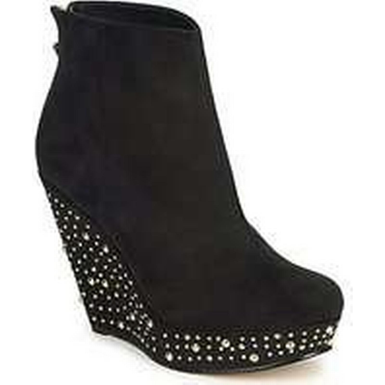 Spartoo.co.uk Lipsy Boots SAPPHIRE women's Low Ankle Boots Lipsy in Black a6676c