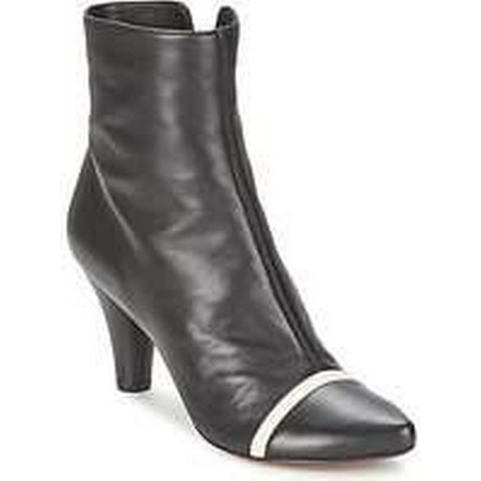 Spartoo.co.uk Low Chie Mihara MEND women's Low Spartoo.co.uk Ankle Boots in Black 48f61d