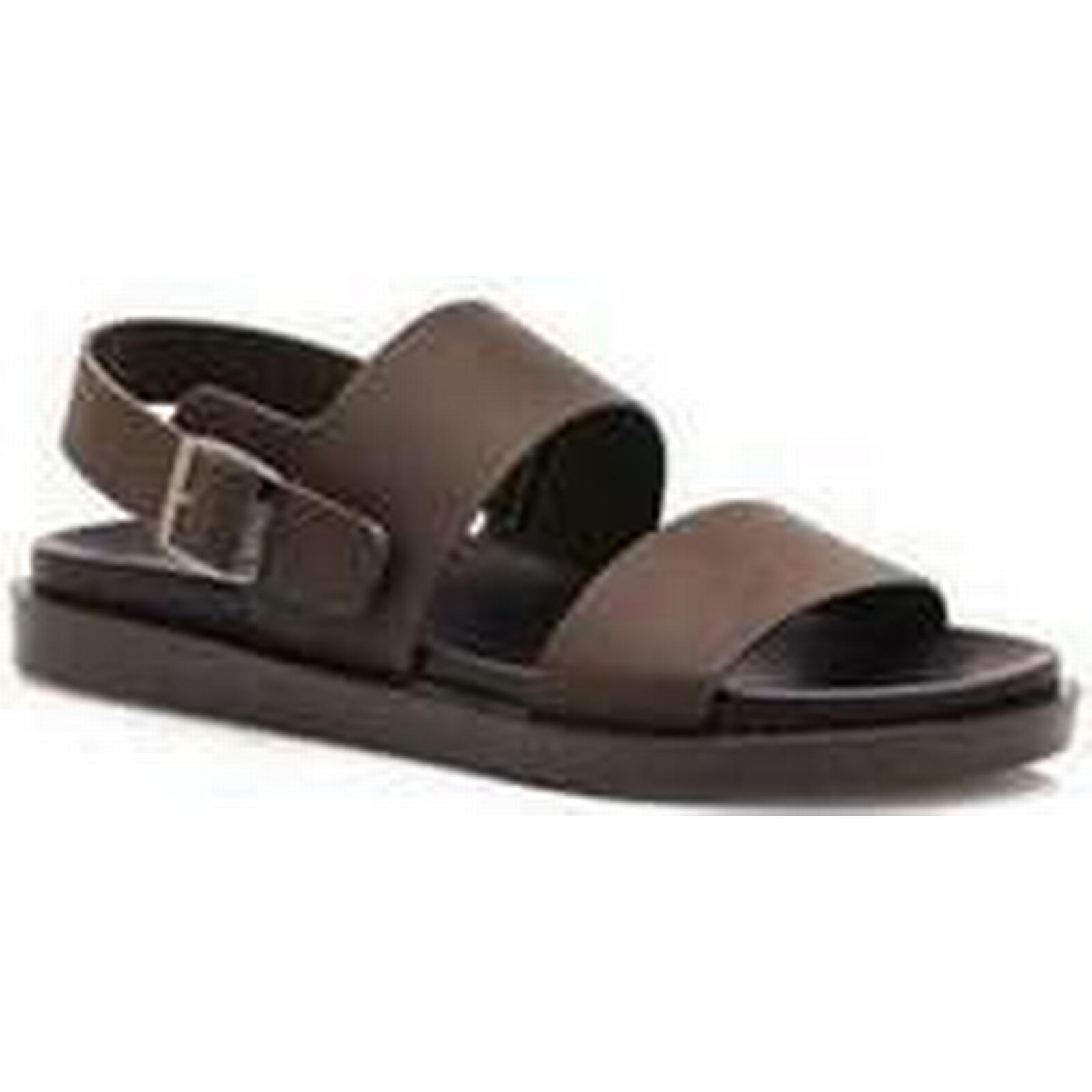 Spartoo.co.uk MTNG CHANCLA PU in VAQUETA BROWN men's Sandals in PU Brown 8a6bc3