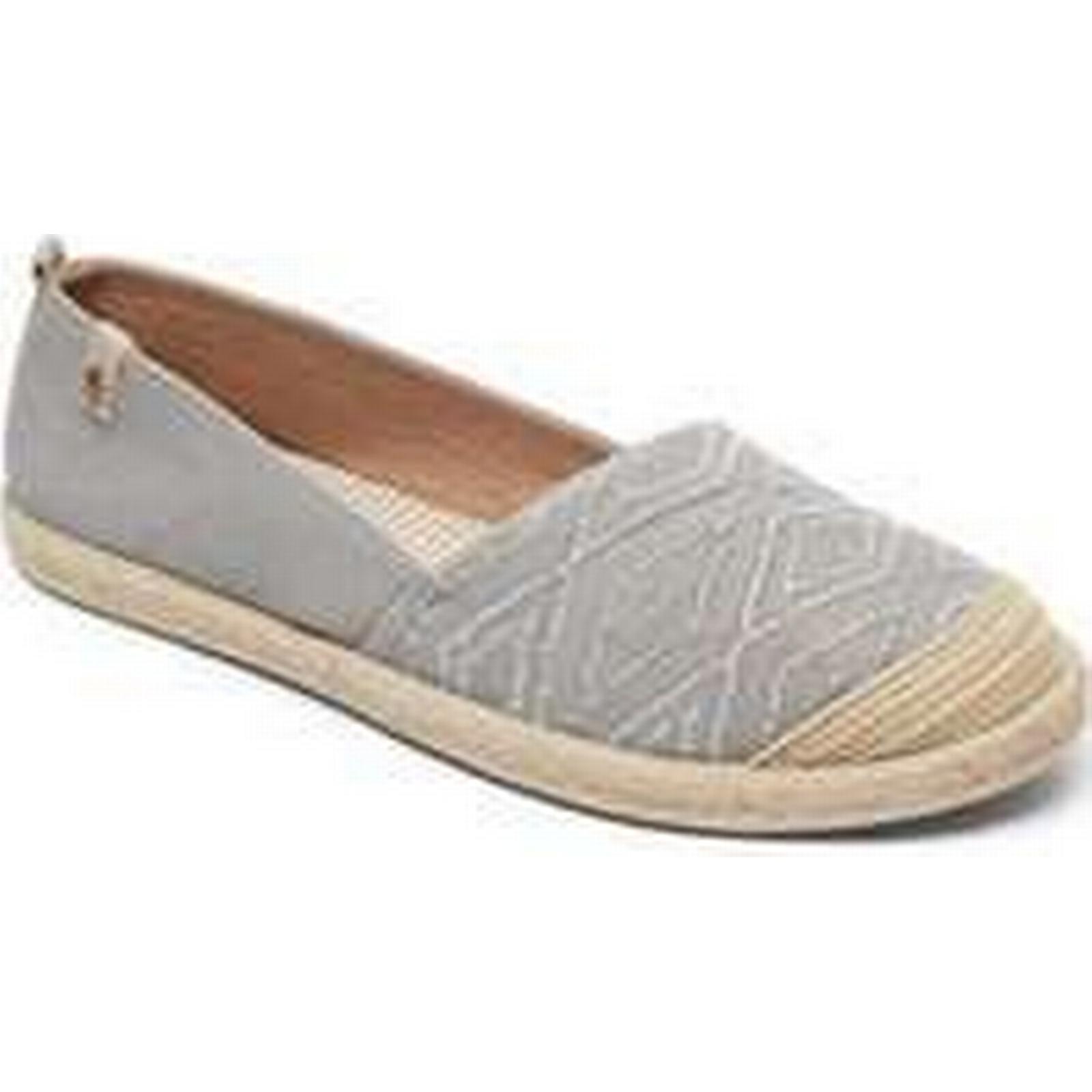 Spartoo.co.uk women's Roxy ALPARGATA-TAU ARJS600412 women's Spartoo.co.uk Shoes (Trainers) in Grey 436c4f