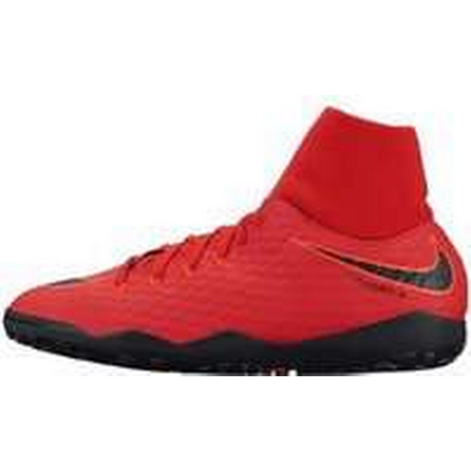 Spartoo.co.uk Nike Hypervenomx Phelon Iii (High-top DF TF men's Shoes (High-top Iii Trainers) in Red 73ddd1