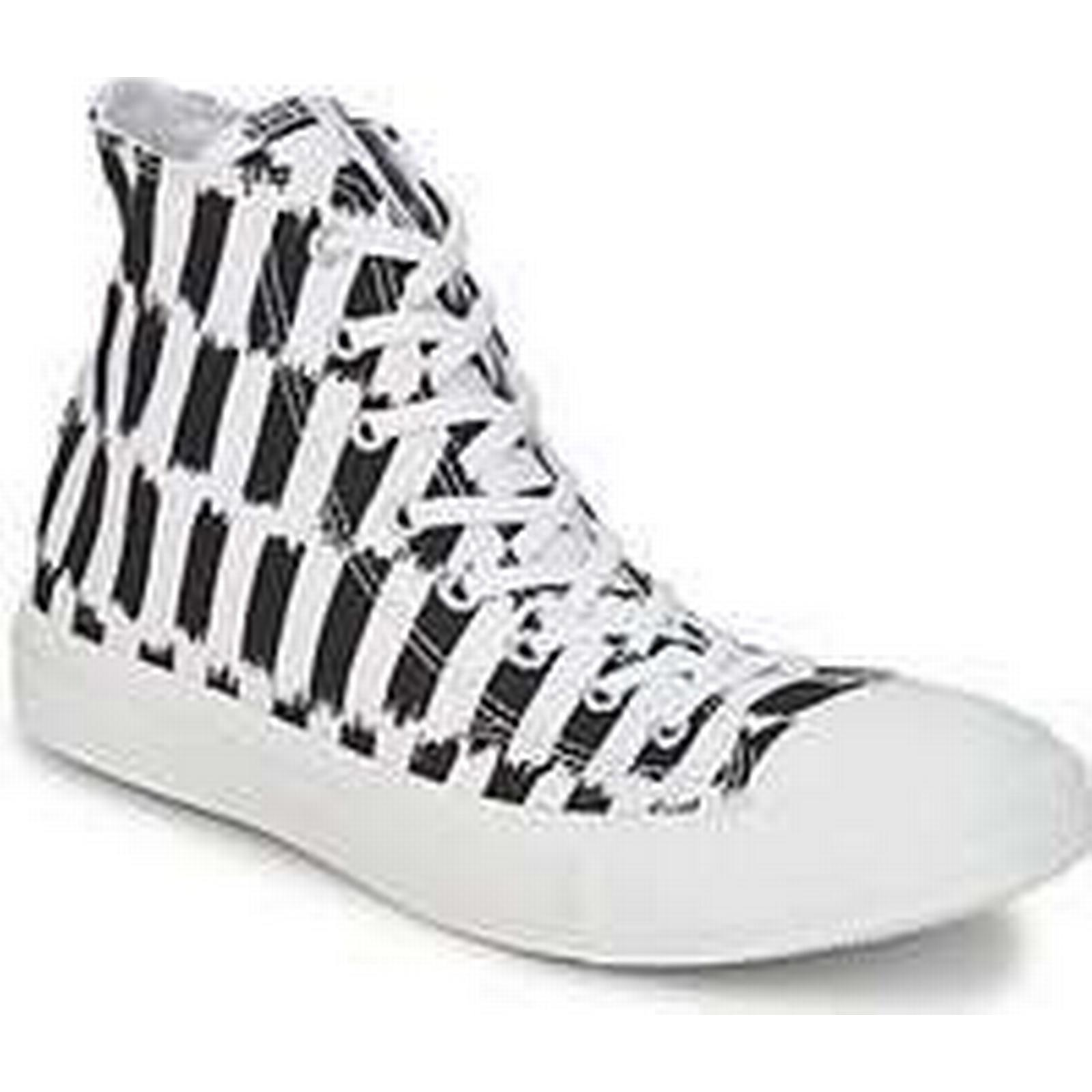 Spartoo.co.uk Converse ALL STAR MARIMEKKO ISHIMOTO HI women's White Shoes (High-top Trainers) in White women's 45948b