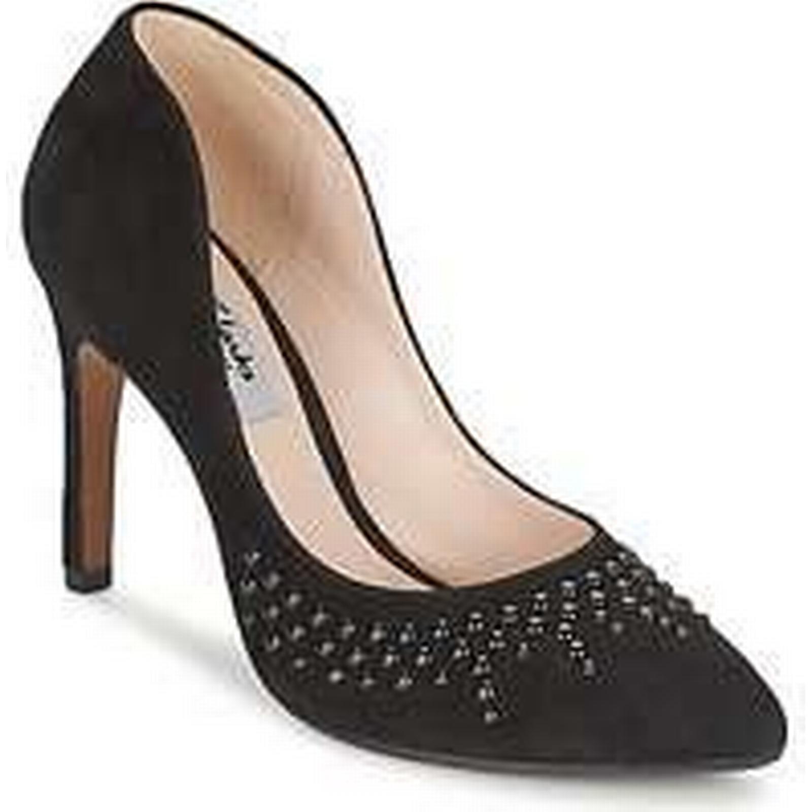 Spartoo.co.uk Clarks AZIZI VERDI Black women's Court Shoes in Black VERDI 2099b3