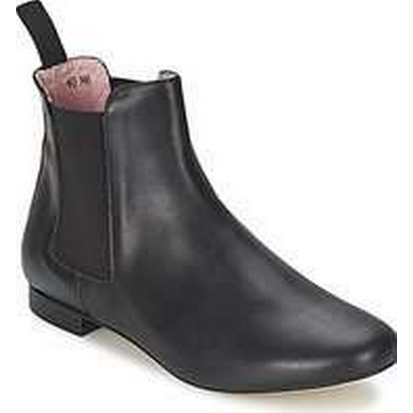 Spartoo.co.uk Low Elia B CLAIRE women's Low Spartoo.co.uk Ankle Boots in Black 056504