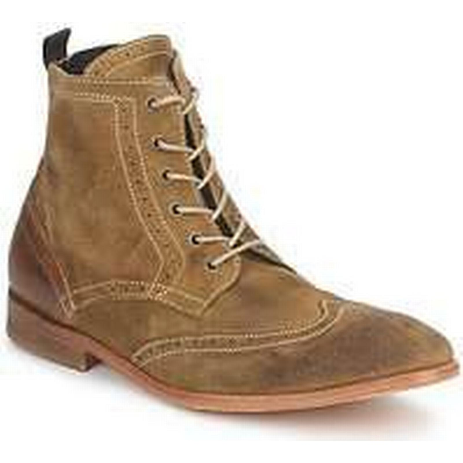 Spartoo.co.uk Hudson RESWICK men's in Low Ankle Boots in men's Brown e69a0e
