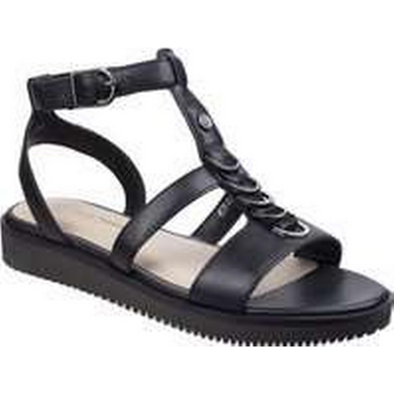 Spartoo.co.uk Hush puppies Sandals Briard Womens Ring T-Strap Sandal women's Sandals puppies in Black 918635