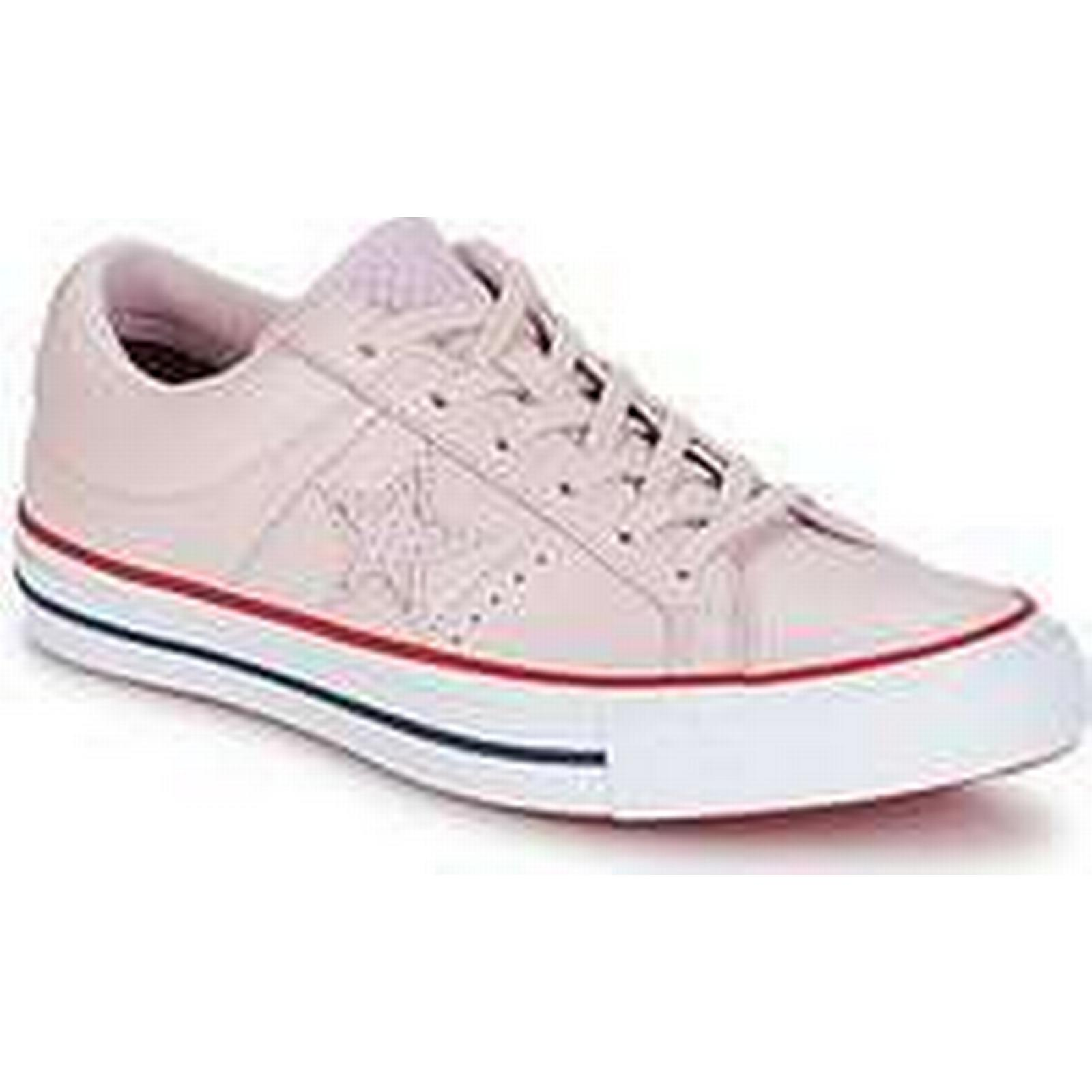 Spartoo.co.uk Shoes Converse One Star-Ox women's Shoes Spartoo.co.uk (Trainers) in Pink 4a9509