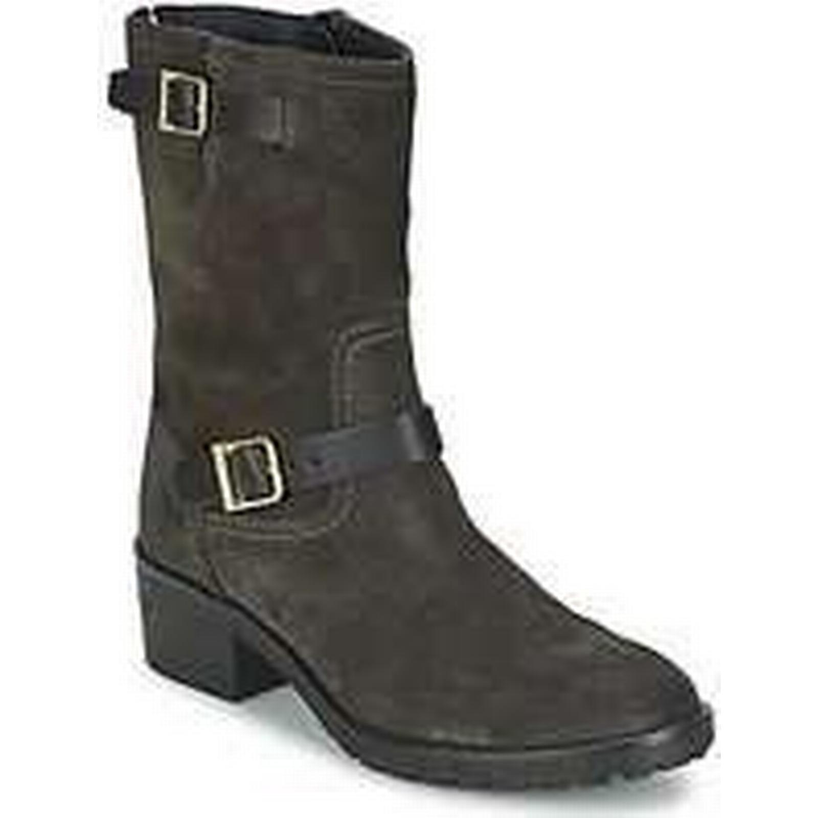 Spartoo.co.uk Tommy Hilfiger WHITNEY 7B Black women's Mid Boots in Black 7B 18e512