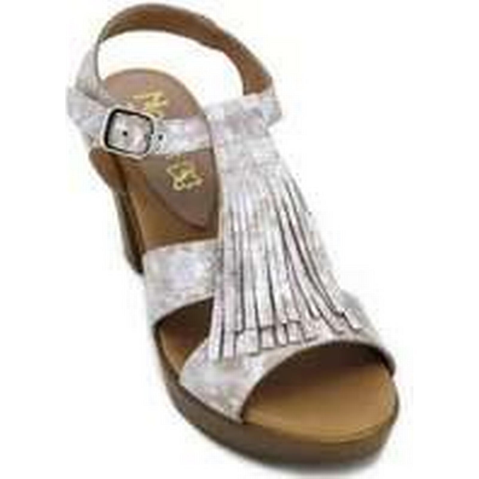Spartoo.co.uk Calzados women's Vesga Noelia M1713P Women's Sandals women's Calzados Sandals in Beige 1ff5da