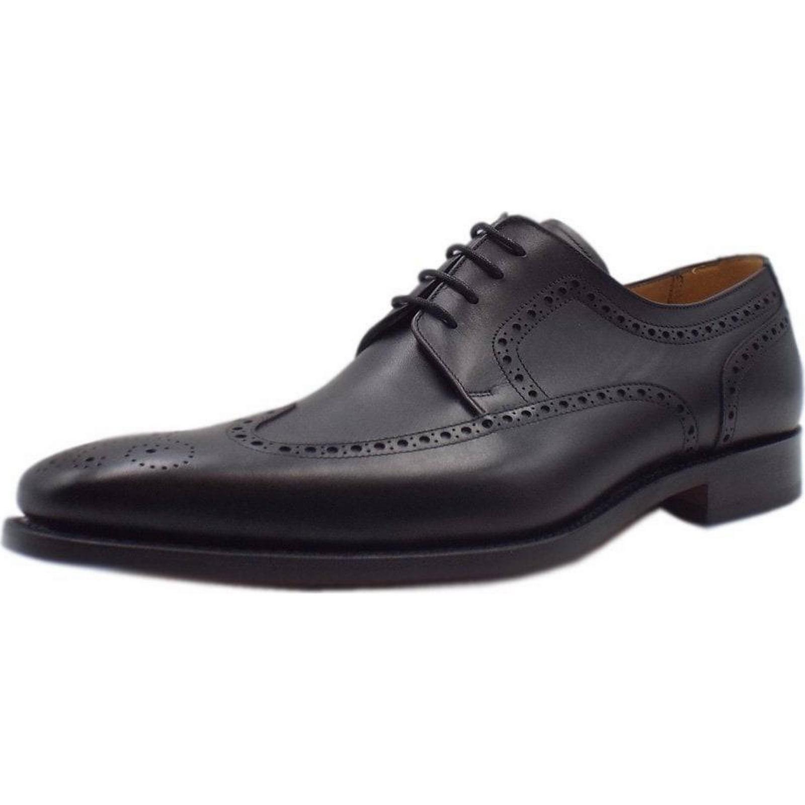 Barker LARRY BARKER Size: 4I WING TIP PROFESSIONL Size: BARKER 7, Colour: BLACK 2f1431